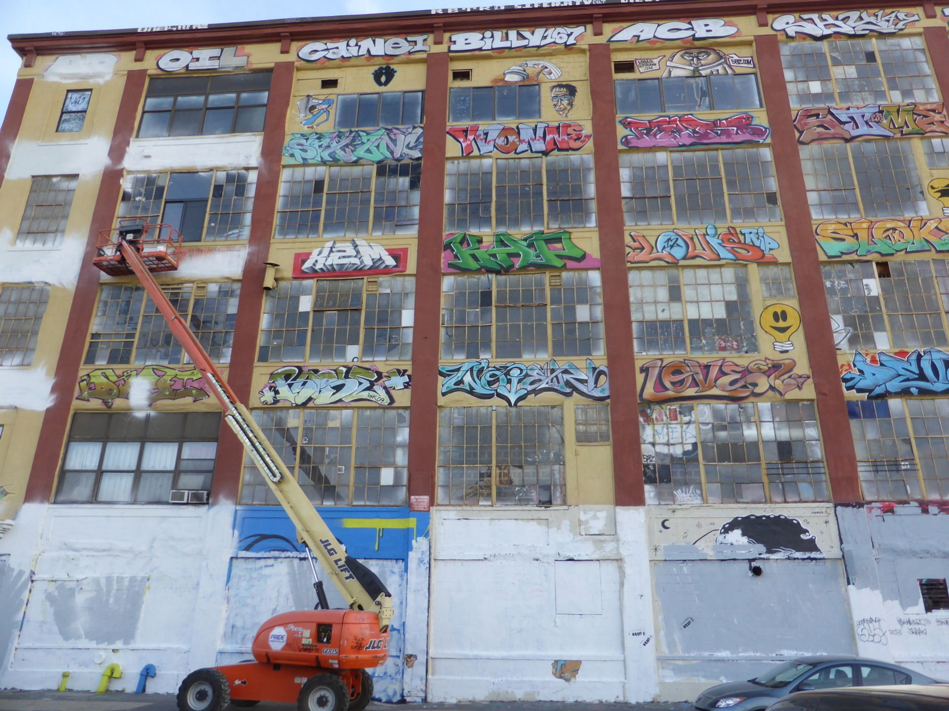 """Judge Frederic Block described developer Jerry Wolkoff's whitewashing of the 5Pointz artists' works as """"an act of pure pique and revenge for the nerve of the plaintiffs to sue to attempt to prevent the destruction of their art"""" Photo: © duncan c via Flickr"""