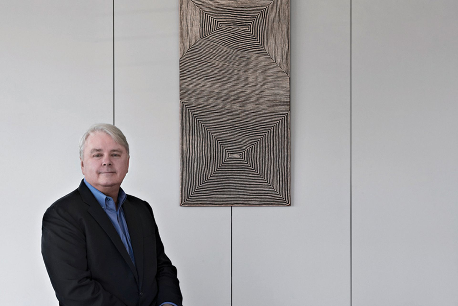 Dennis Scholl, of Art Center/South Florida, which is working with Art Basel Matthu Placek 2012