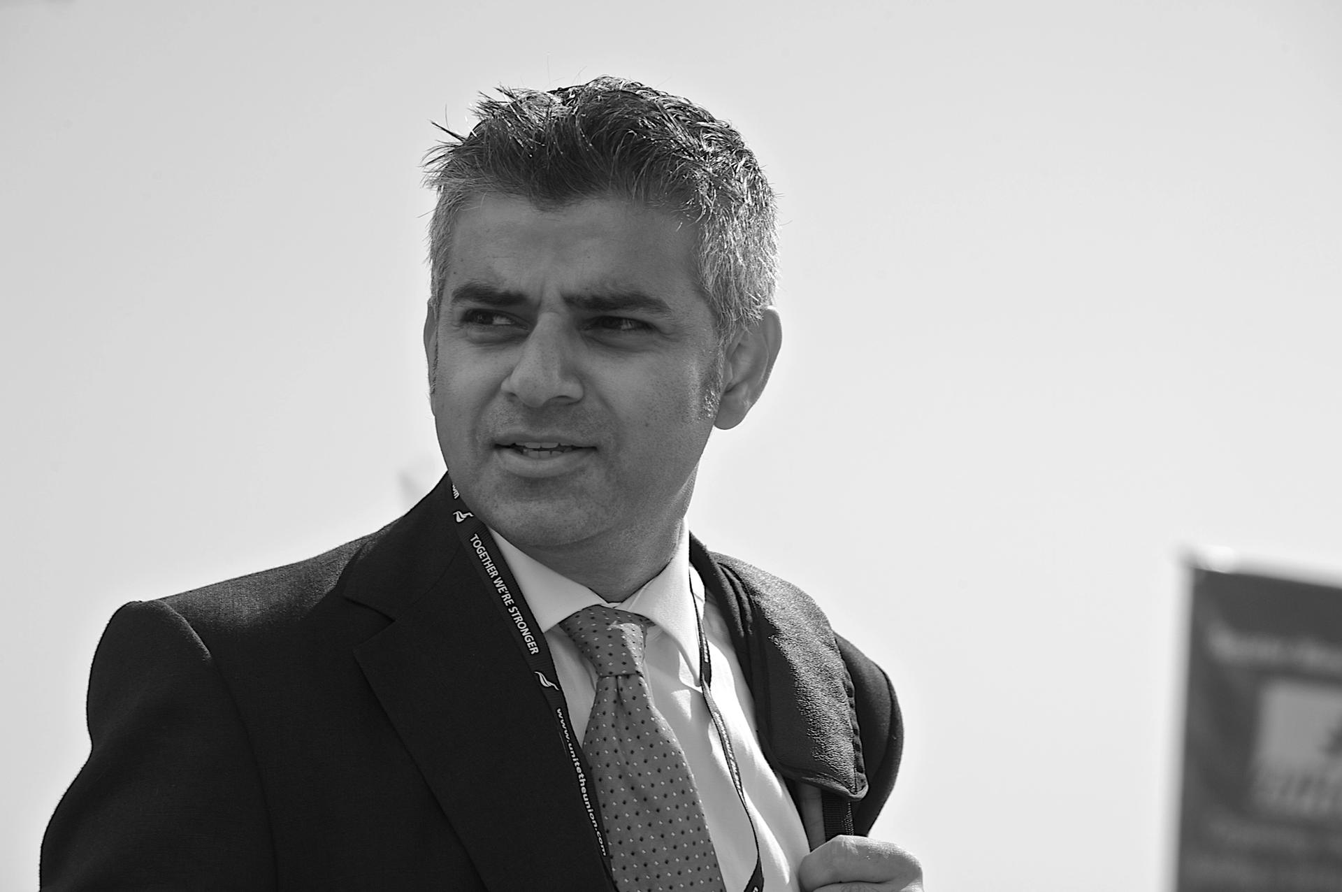 """London Mayor Sadiq Khan said that """"deepening our understanding of the past [can] strengthen our commitment to fight racism"""""""