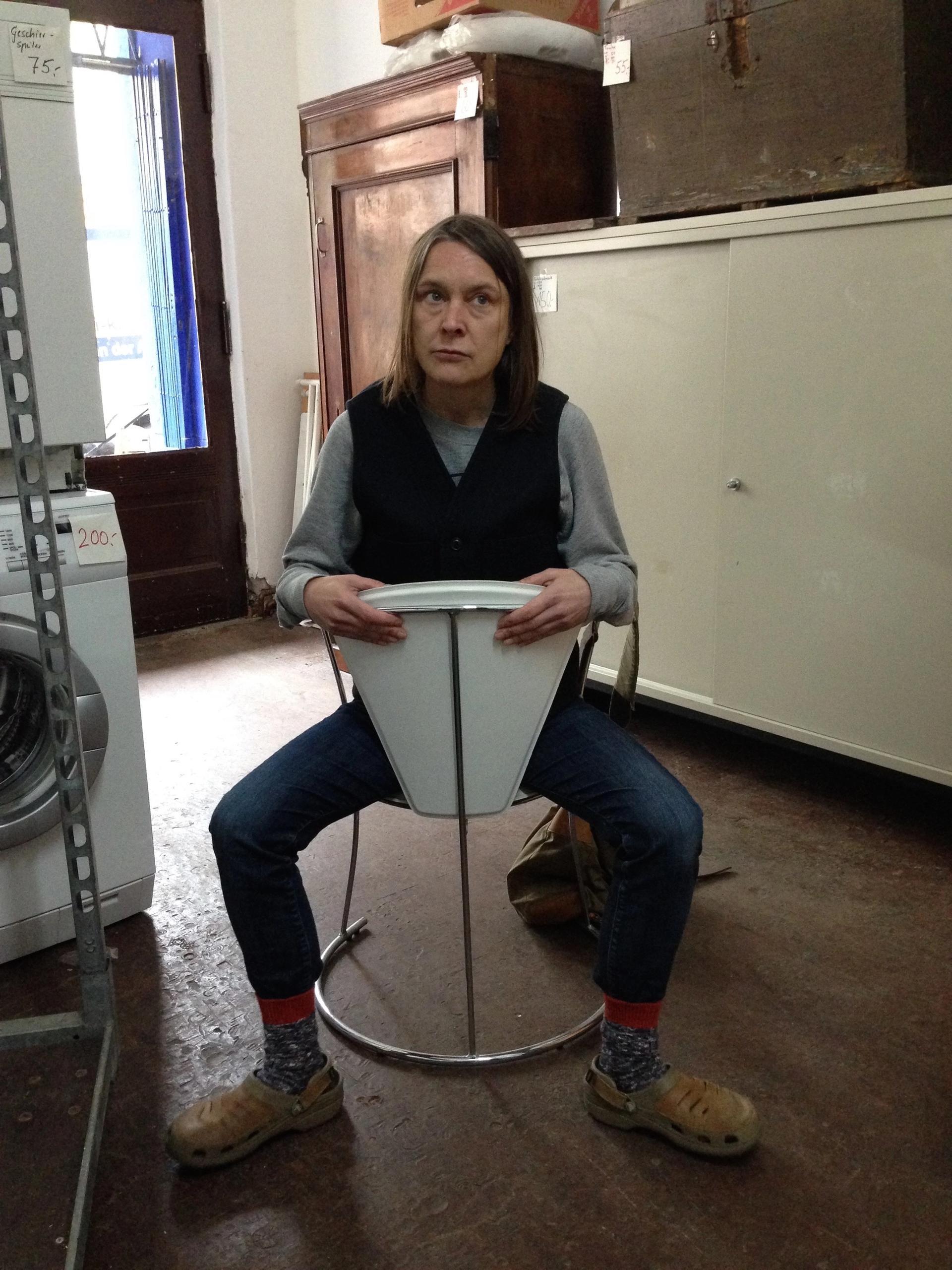 Sarah Lucas has been judging works of art done by UK prisoners Courtesy of Koestler Arts