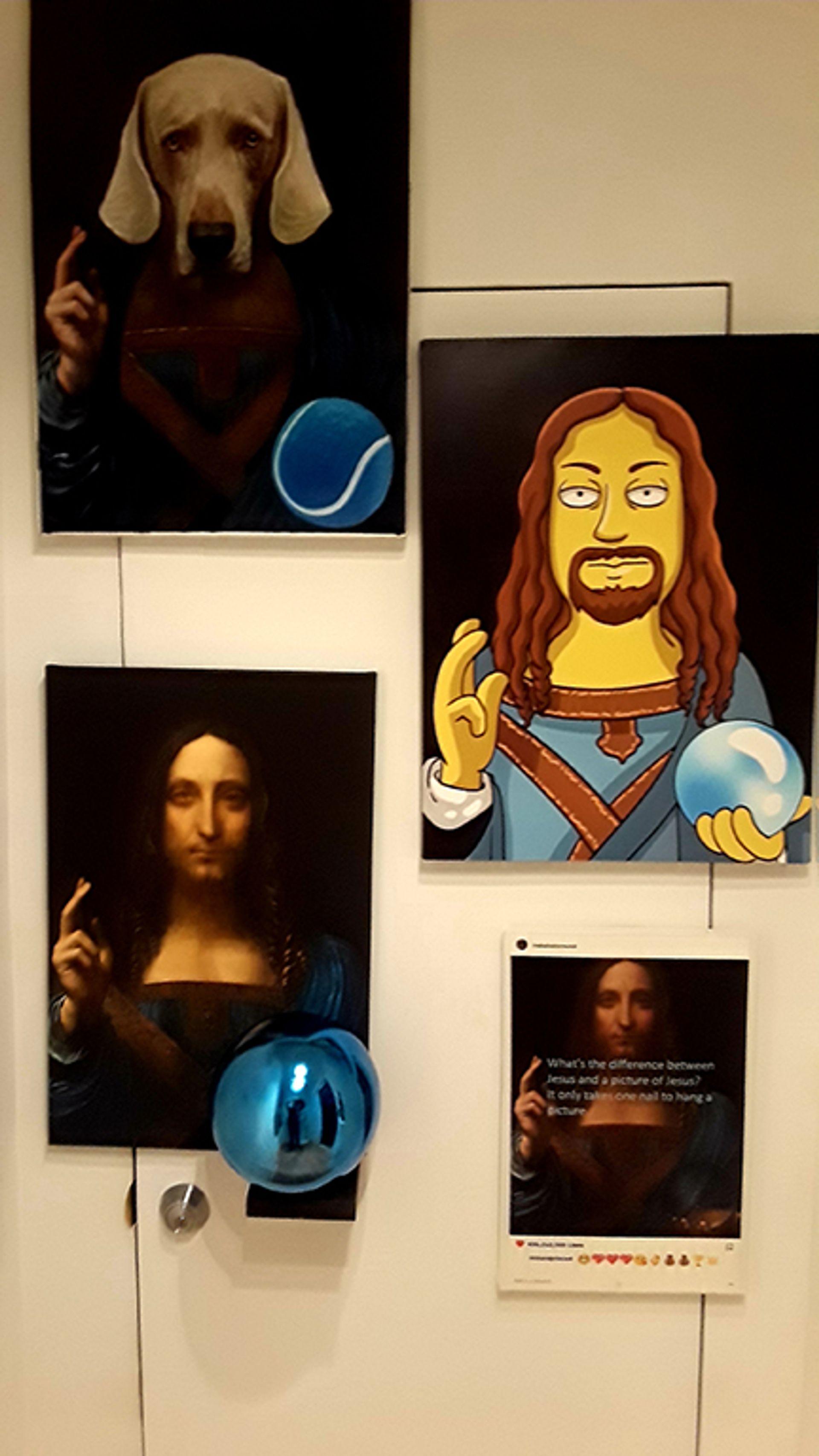 Works inspired by the Salvator Mundi realsalvatormundi.com