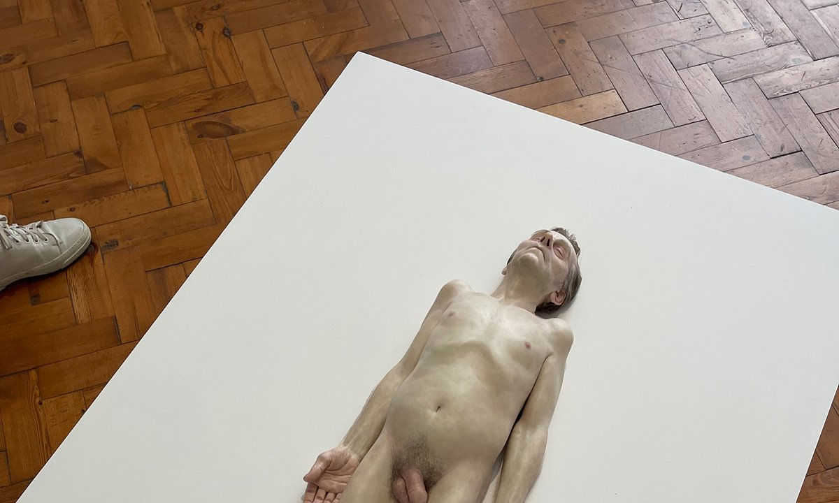From a nude dude to poems for the weary: the latest gossip from Frieze London