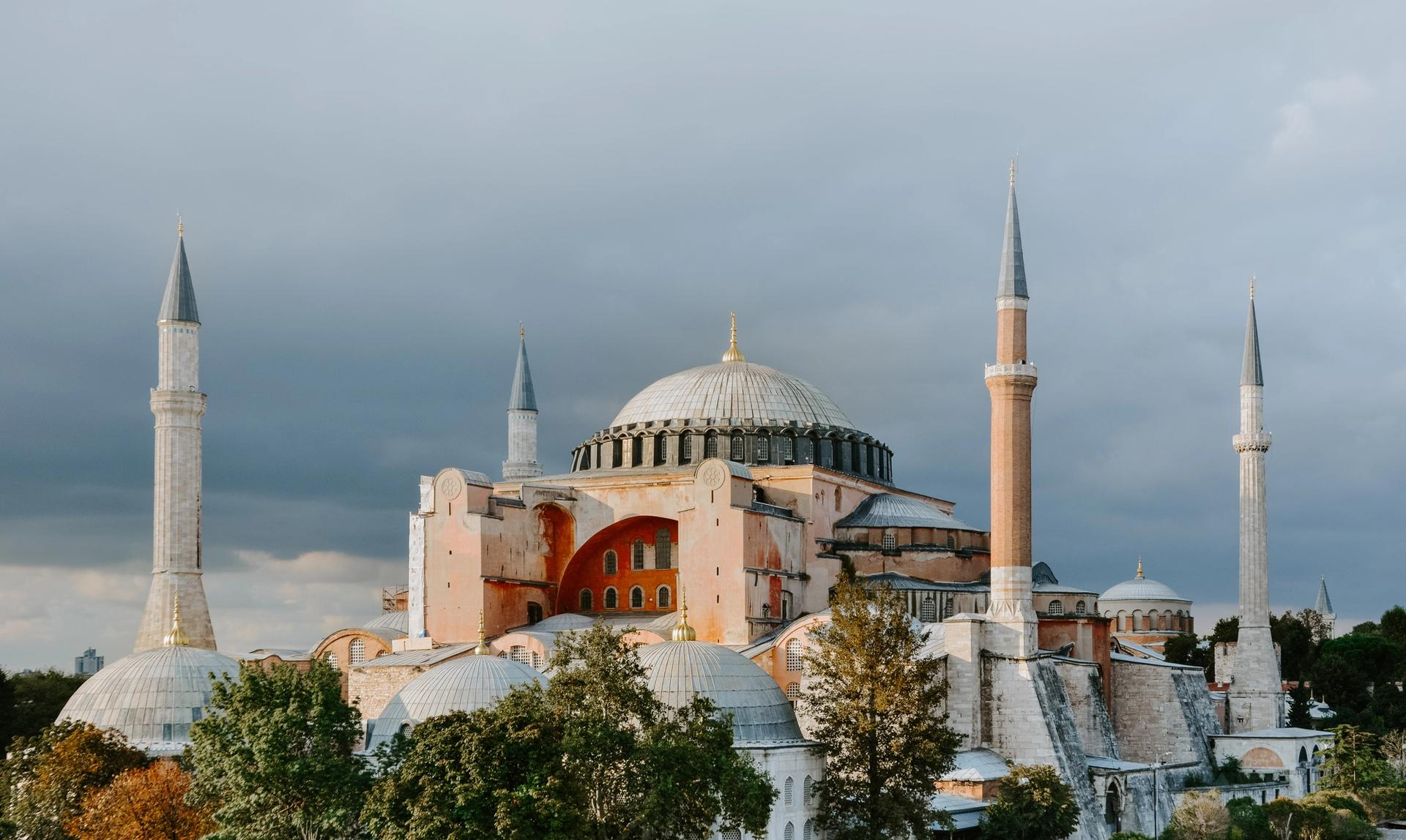 Built in AD 537, during the reign of the Byzantine emperor Justinian, the Hagia Sophia was the world's largest building and an engineering marvel of its time © Adli Wahid
