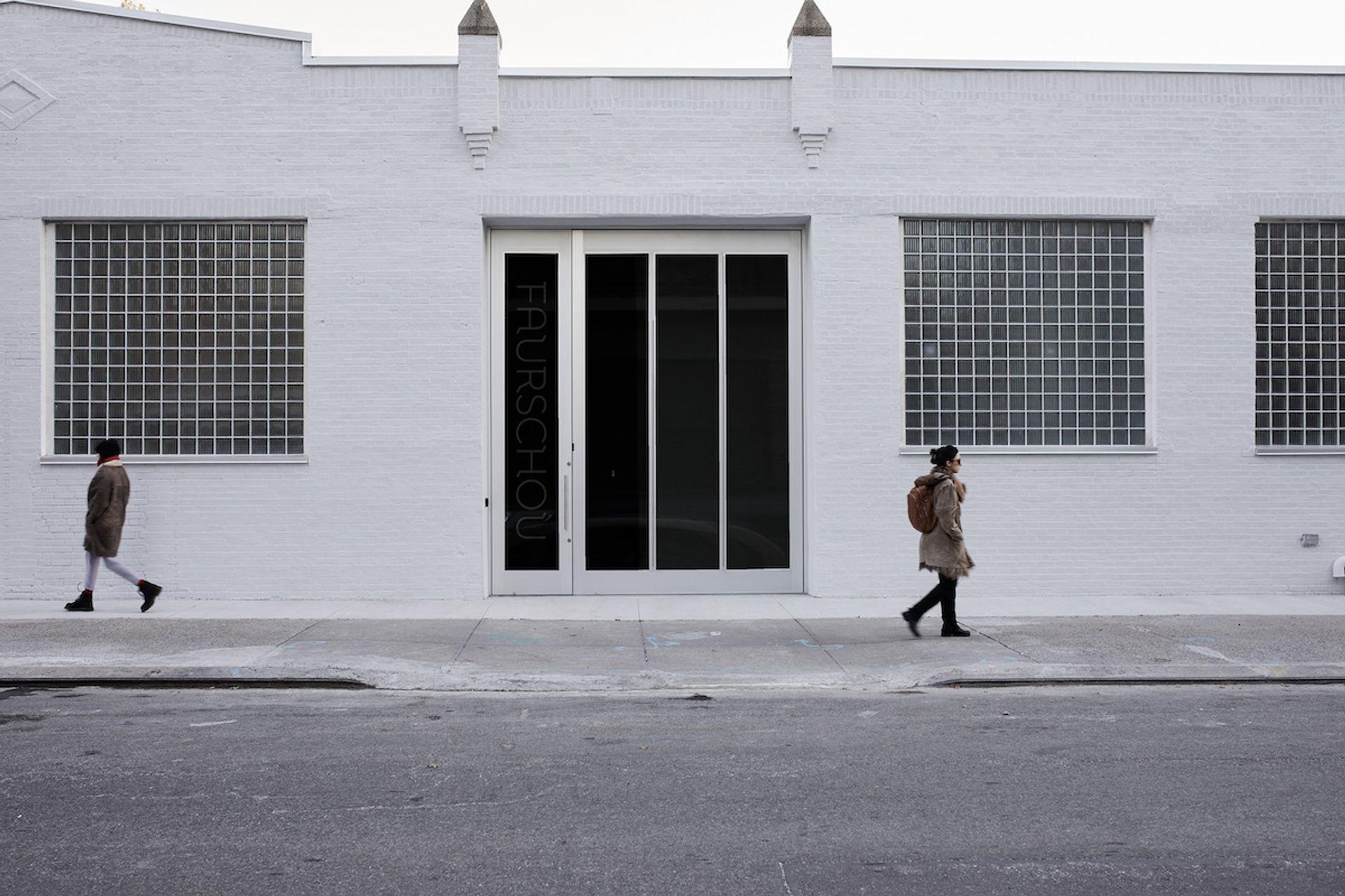 The facade of the Faurschou in New York Ed Gumuchian, © Faurschou Foundation