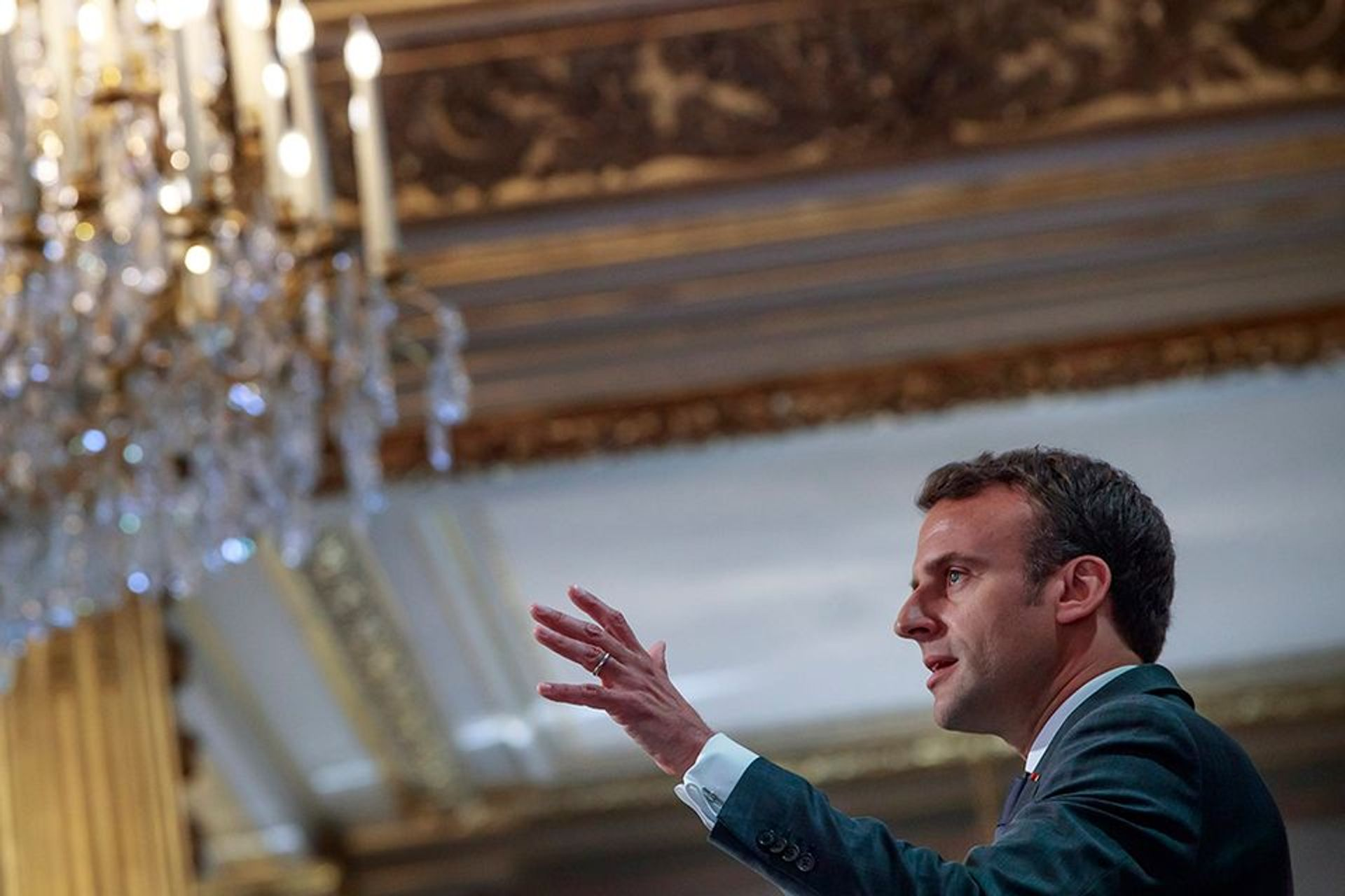 """French photographers are calling on Emmanuel Macron for a """"photographic new deal"""" to support them through the coronavirus pandemic © Christophe Petit Tesson, Pool via AP /Flickr"""