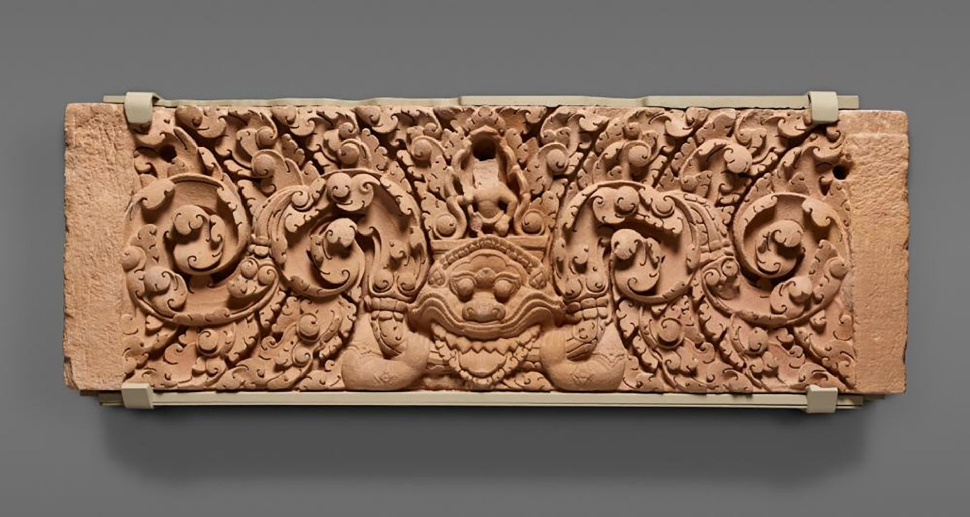 A sandstone lintel from Khao Lon Temple in northeastern Thailand from around 975 to 1025 Asian Art Museum