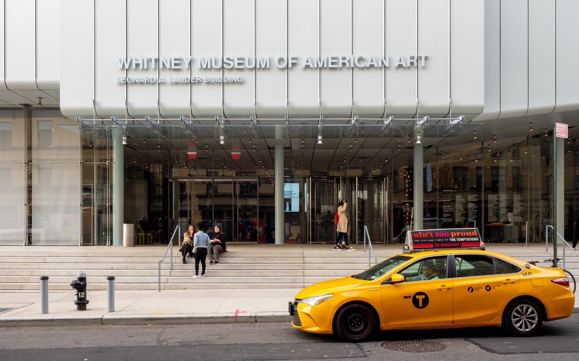 The Whitney Museum in New York. Wikimedia