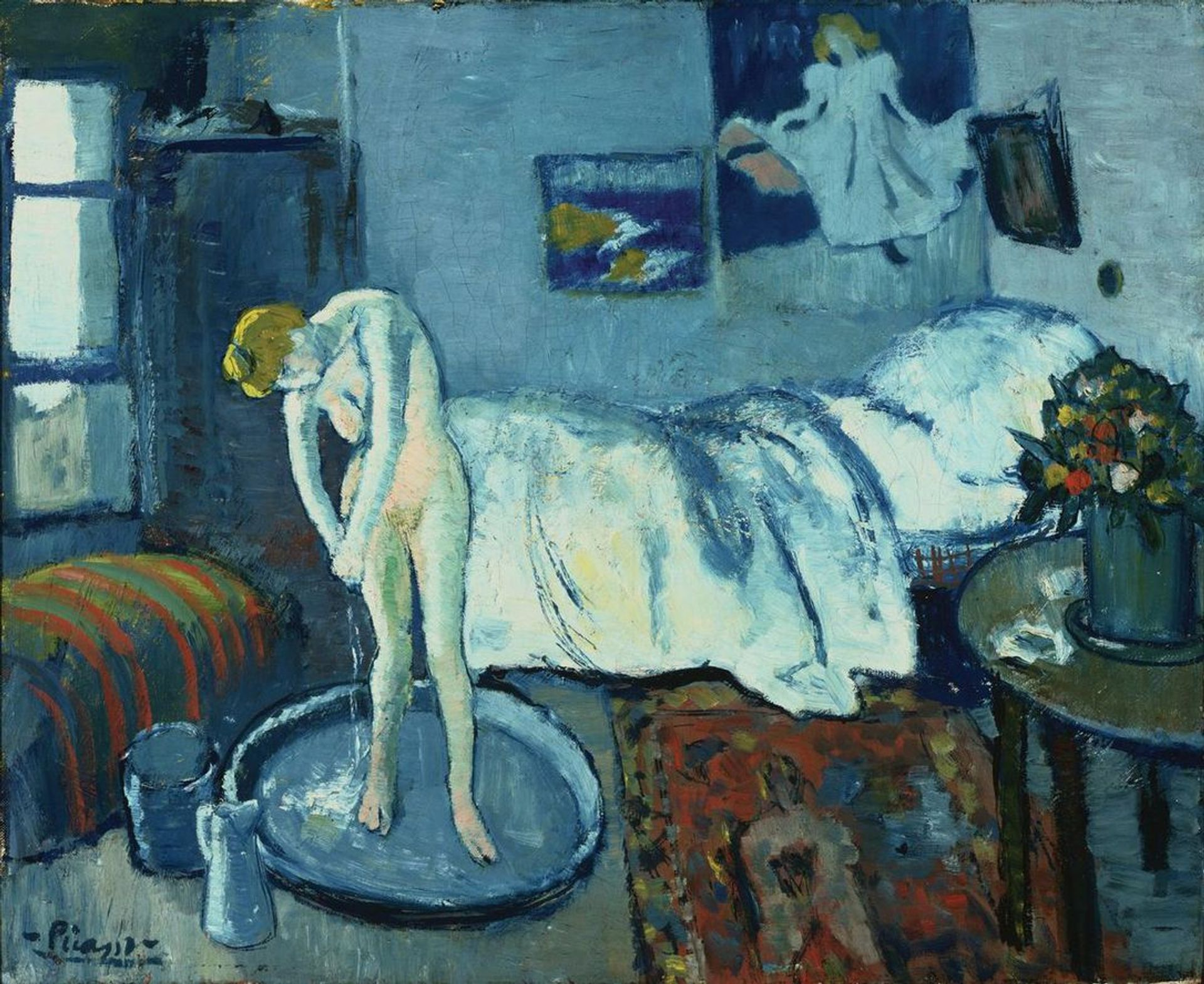 Pablo Picasso's The Blue Room (1901) The Phillips Collection