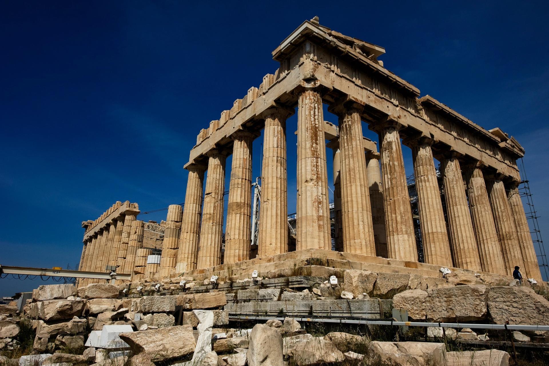 The Parthenon in Athens Photo: Andrew Baldwin