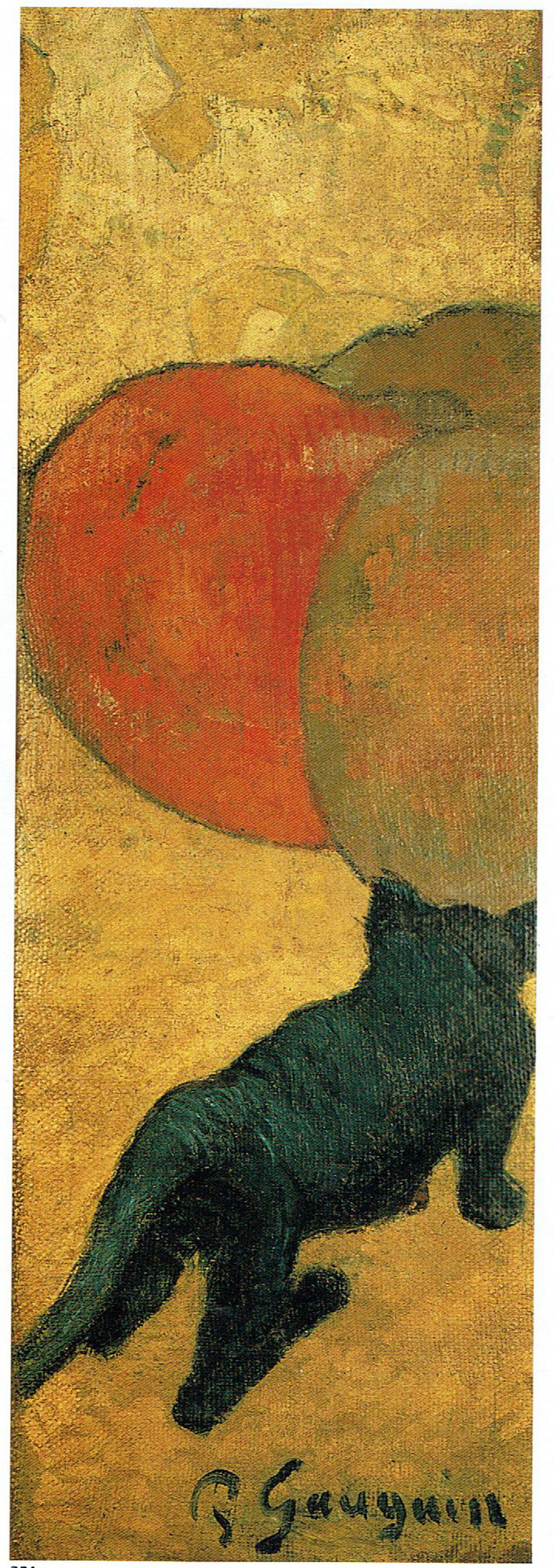 Paul Gauguin, Small Cat, autumn 1888, private collection
