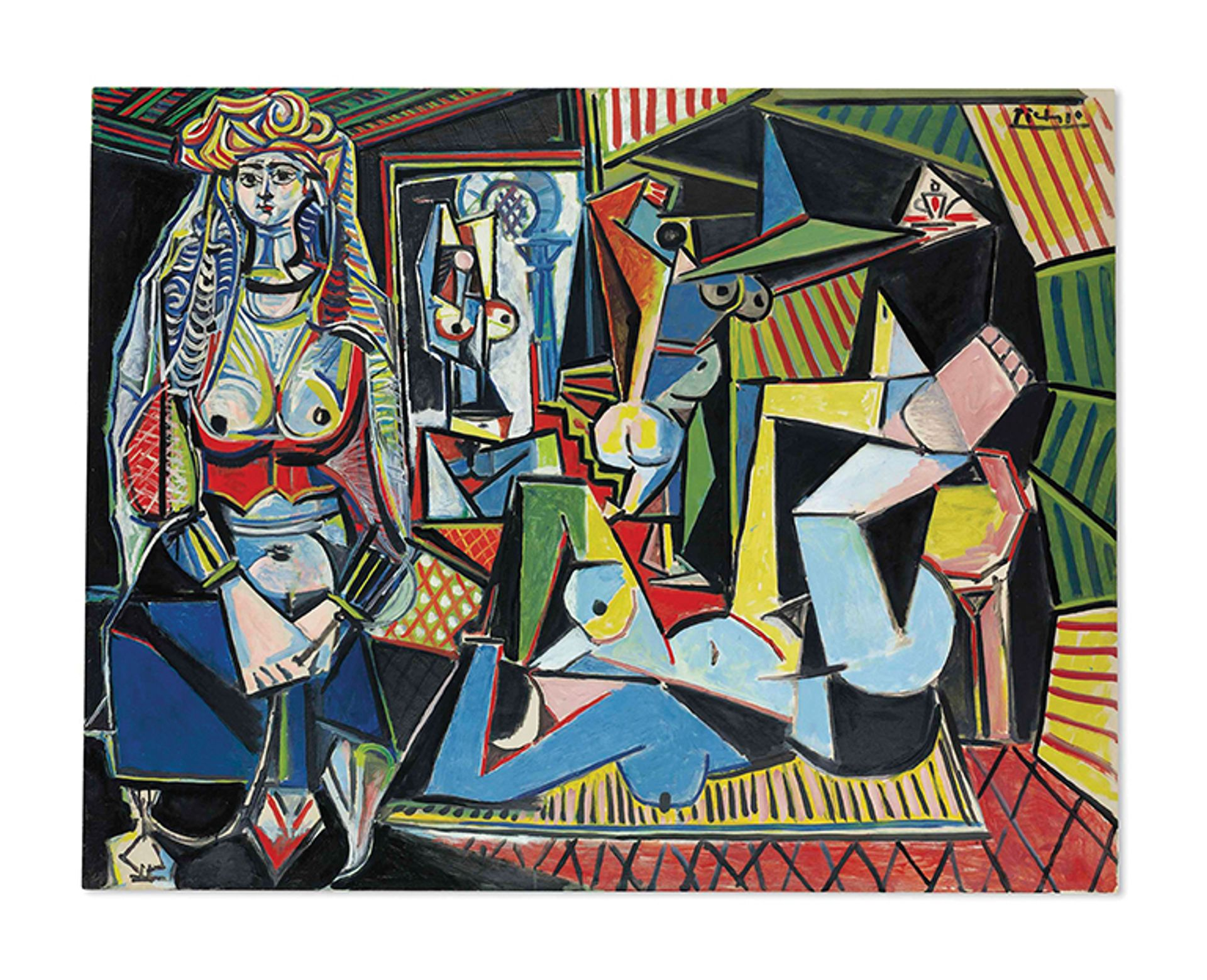 Les femmes d'Alger (Version 'O') (1955) sold for $179.4m at Christie's New York in May 2015, the artist's all-time auction high Courtesy of Christie's Images LTD