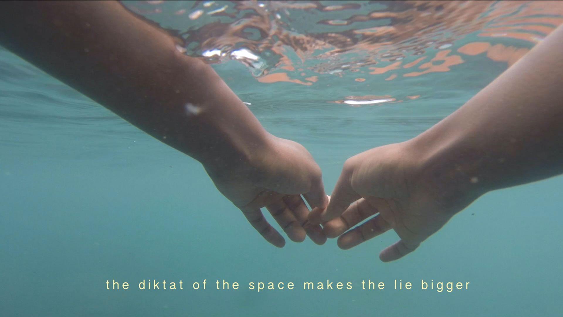 "Minia Biabiany's ""Toli Toli"" Video installation (2018). Courtesy of the KBH.G cultural foundation"