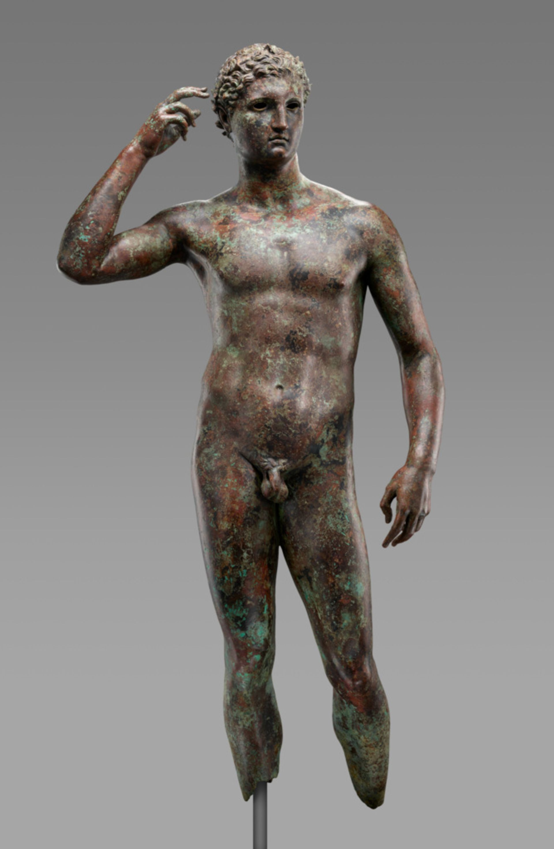 Statue of a Victorious Youth (300–100 BC)