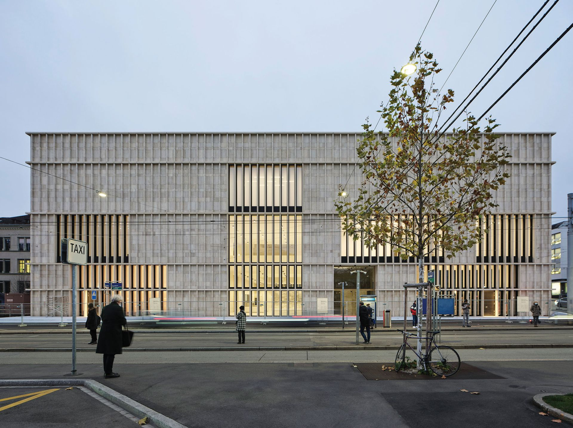 The Kunsthaus Zurich's new building is designed by David Chipperfield Architects Photo: © Noshe