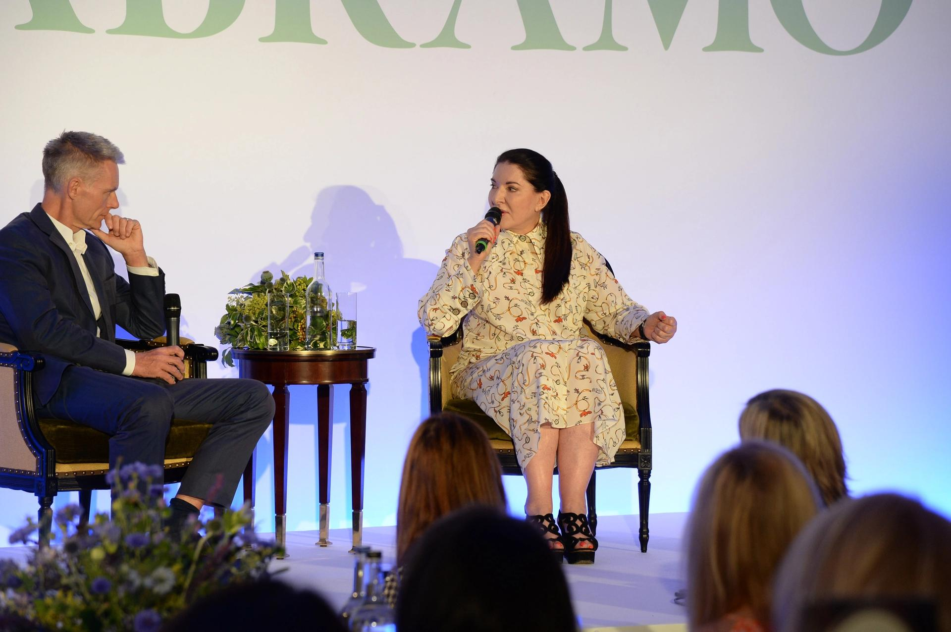 Marina Abramovic has been spending increasing amounts of time with the Royal Academy's creative director Tim Marlow BFAMI and Hannah Young