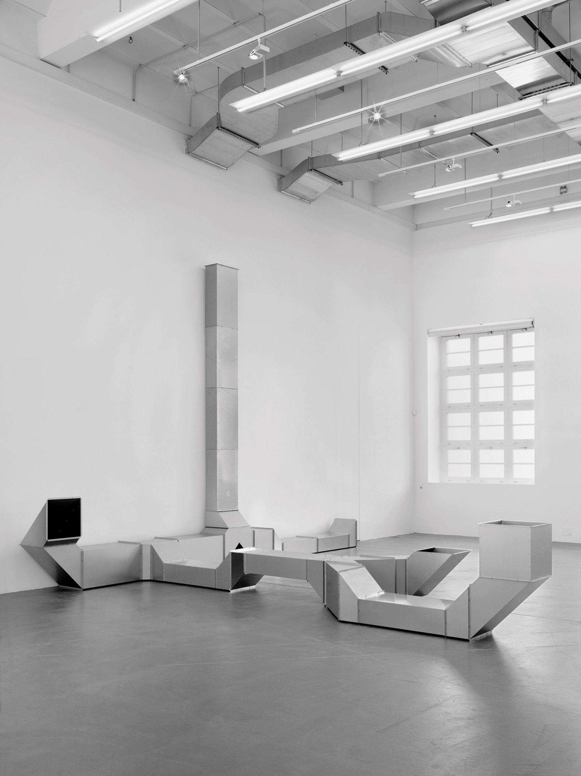 Charlotte Posenske's Vierantrohr (Square Tubes [Series D]) (1967) © Estate of Charlotte Posenenske.