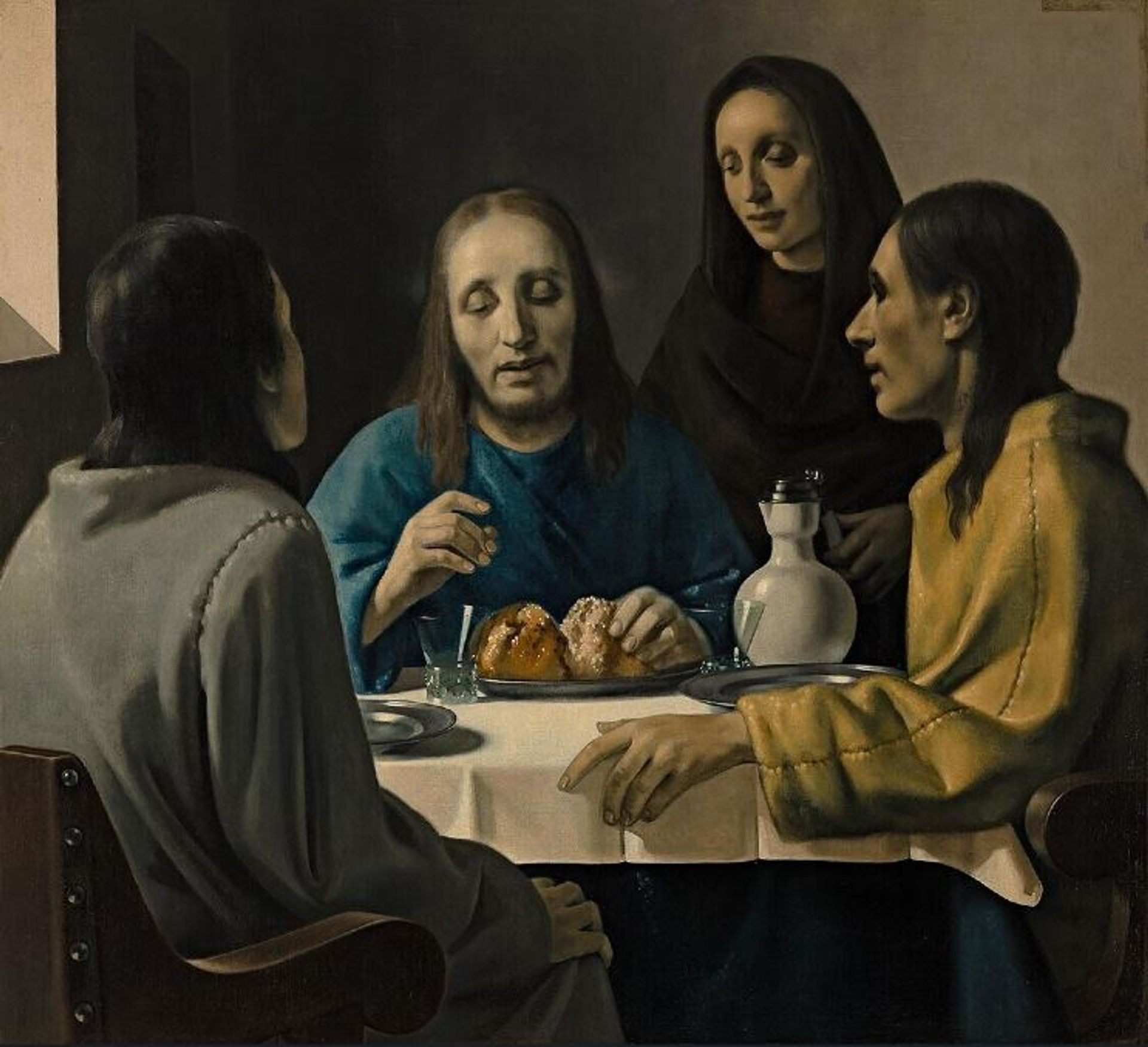 """Han van Meegeren's Christ at Emmaus """"is the most famous falsification in Dutch art history"""", according to the Museum Boijmans Van Beuningen's website.  The museum bought the """"Vermeer"""" in 1937 and only learned it was a fake after Second World War Museum Boijmans Van Beuningen"""