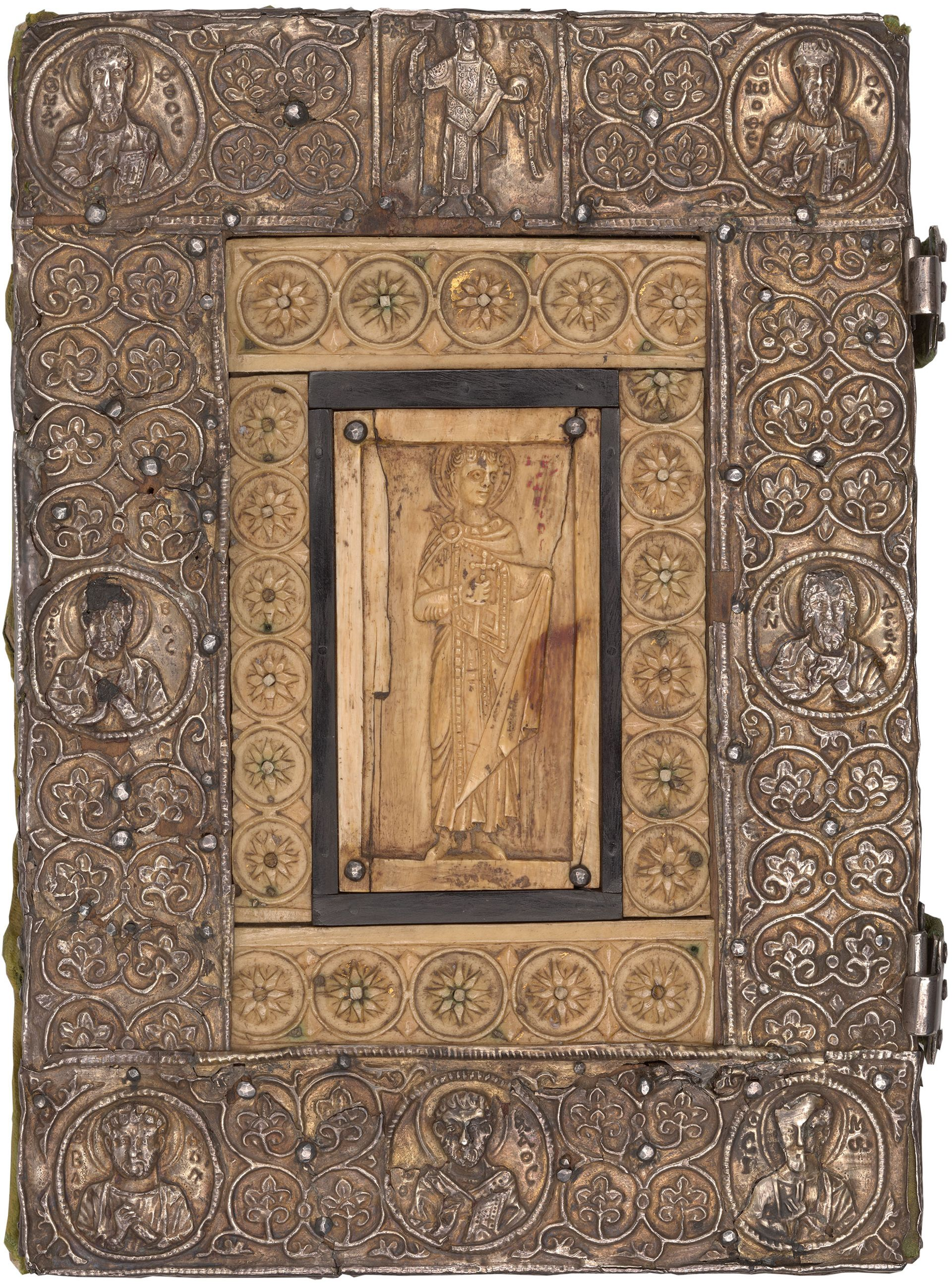 A sacramentary in the Morgan Library & Museum's collection that is thought to date to around 1050 Morgan Library & Museum