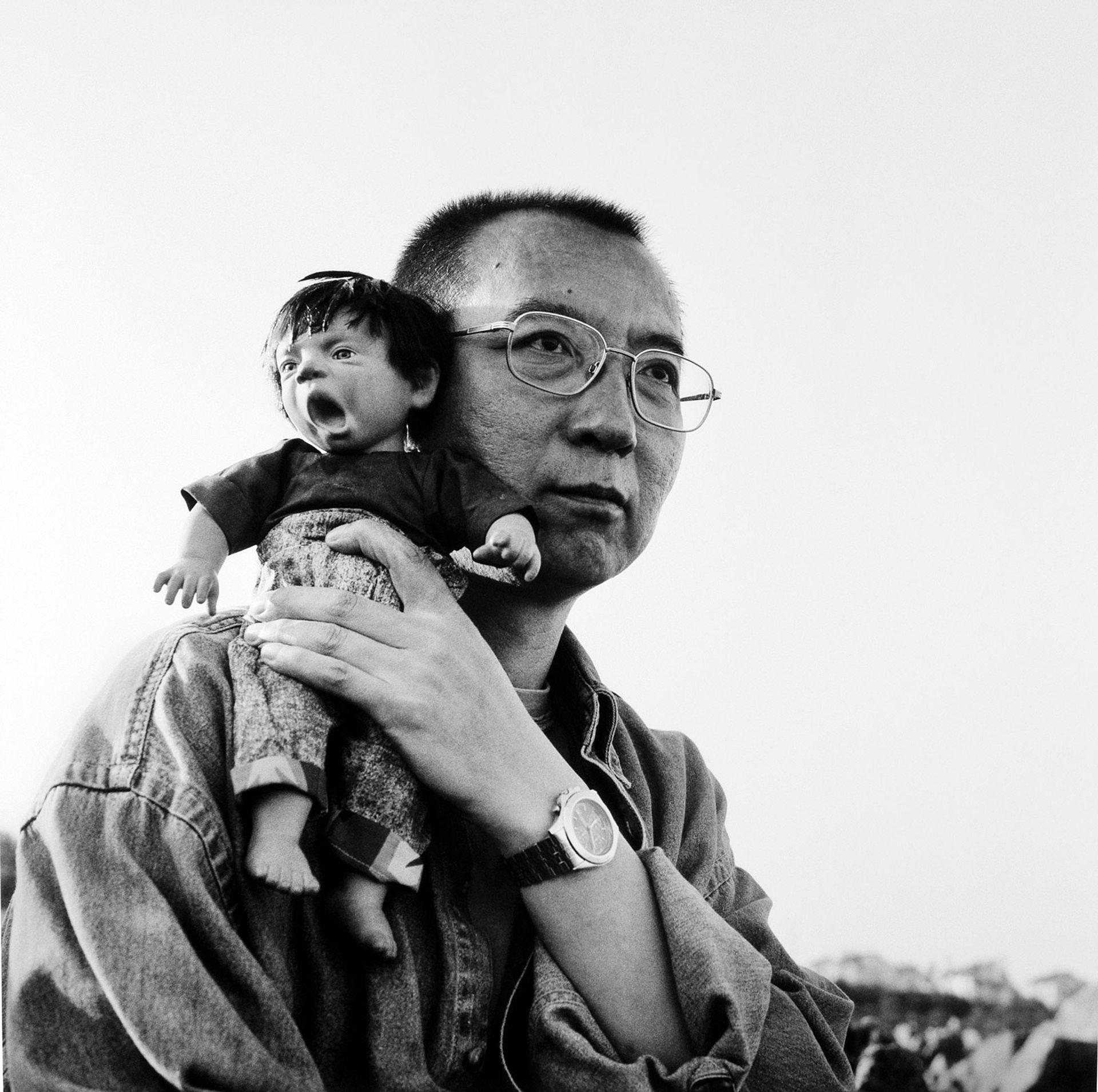 Liu Xia's untitled photograph of Liu Xiaobo Courtesy Guy Sorman