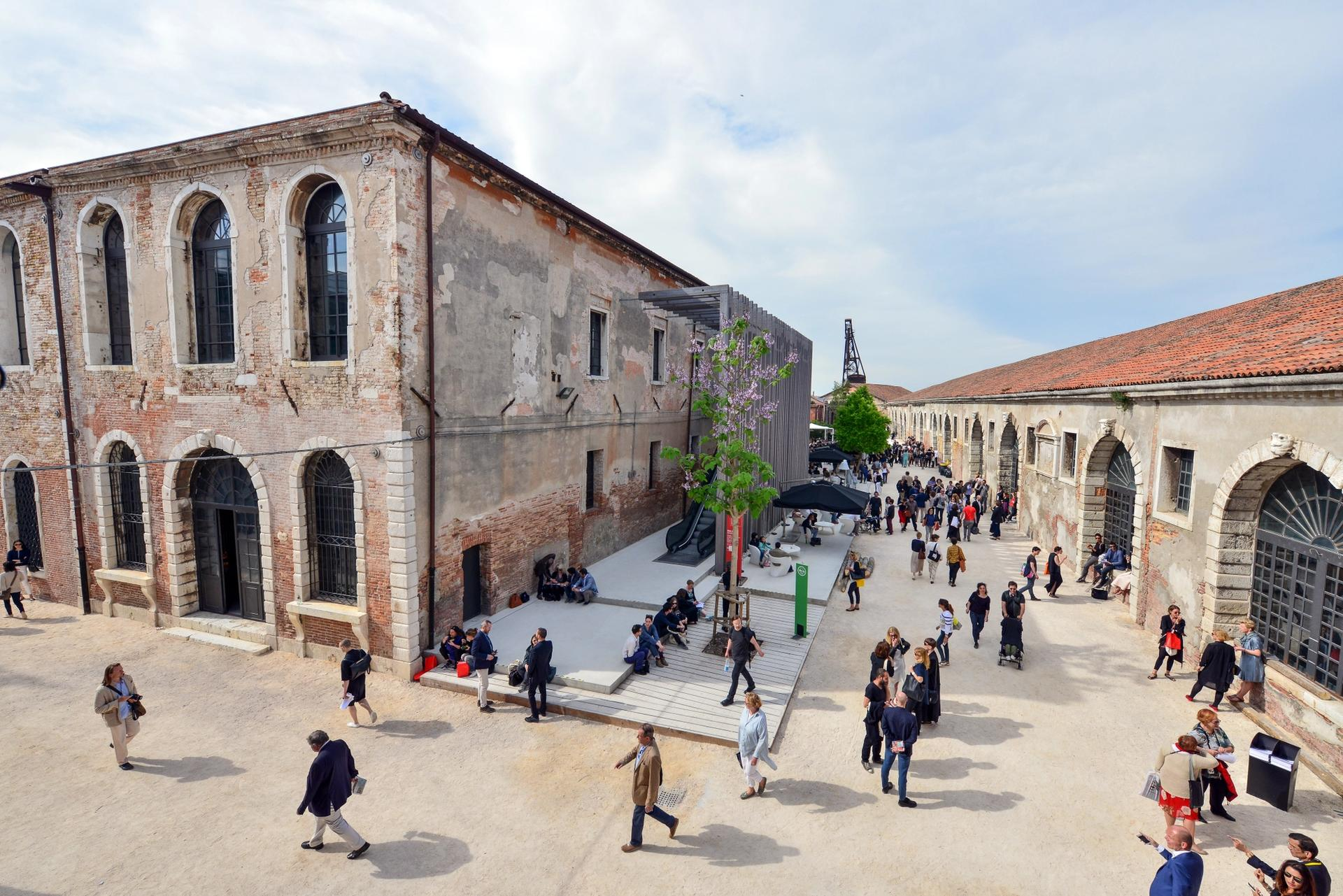 The Arsenale venue in Venice Photo: Andrea Avezzù. Courtesy La Biennale di Venezia
