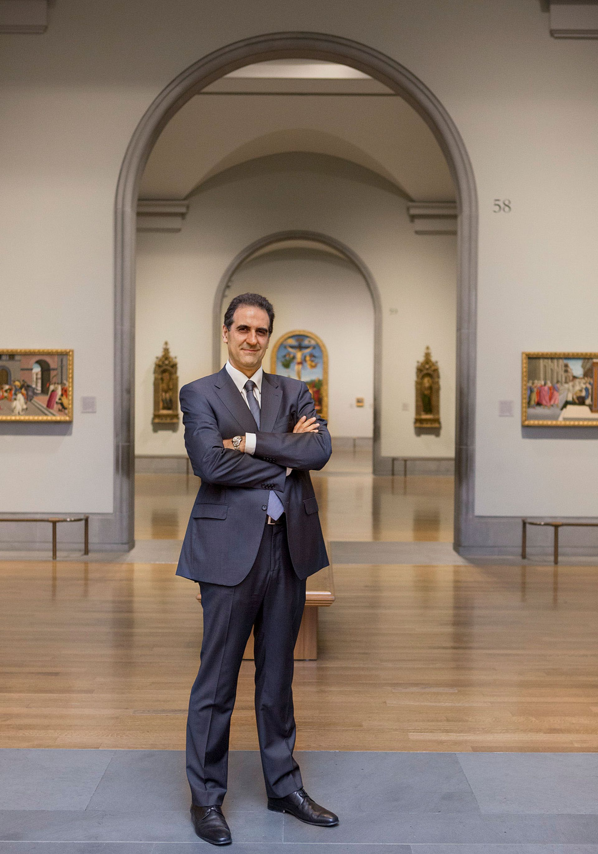 """Gabriele Finaldi, the director of the National Gallery, says its new five-year strategy will """"see us fighting our way out of the crisis"""" © The National Gallery, London"""