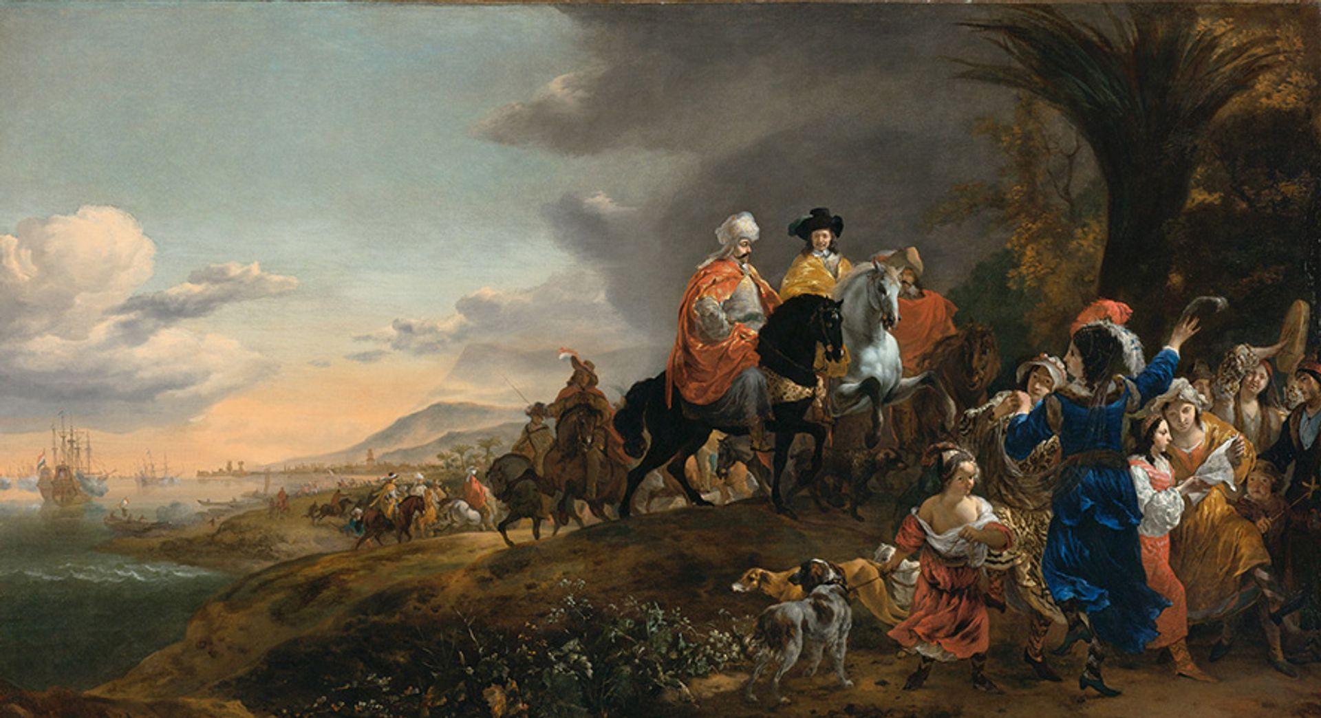 Jan Baptist Weenix, The Dutch Ambassador on his Way to Isfahan, 1653-54 Courtesy of the Rijksmuseum, Amsterdam