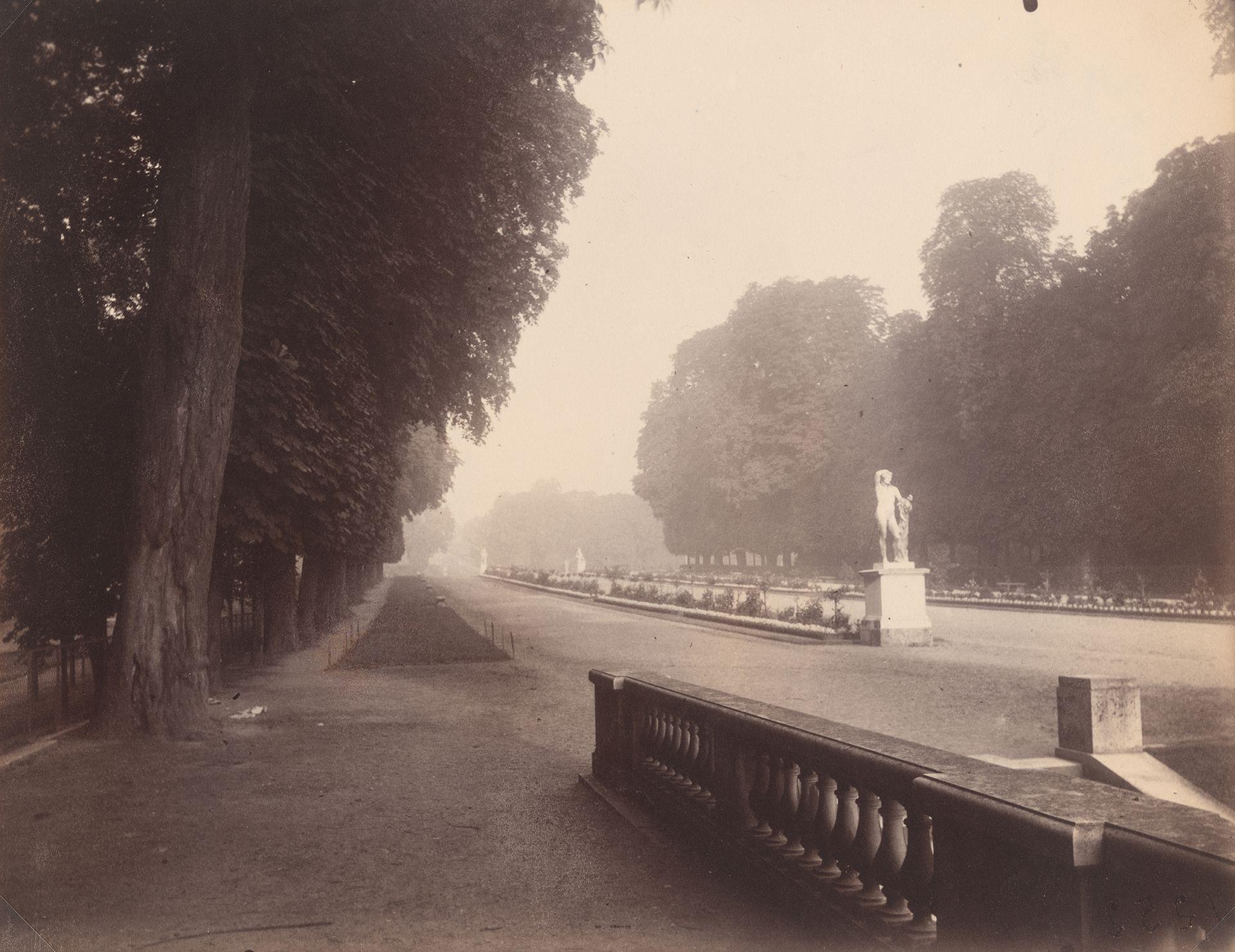 Eugène Atget Saint-Cloud. End of August, 6:30 a.m., 1924 National Gallery of Art, Washington