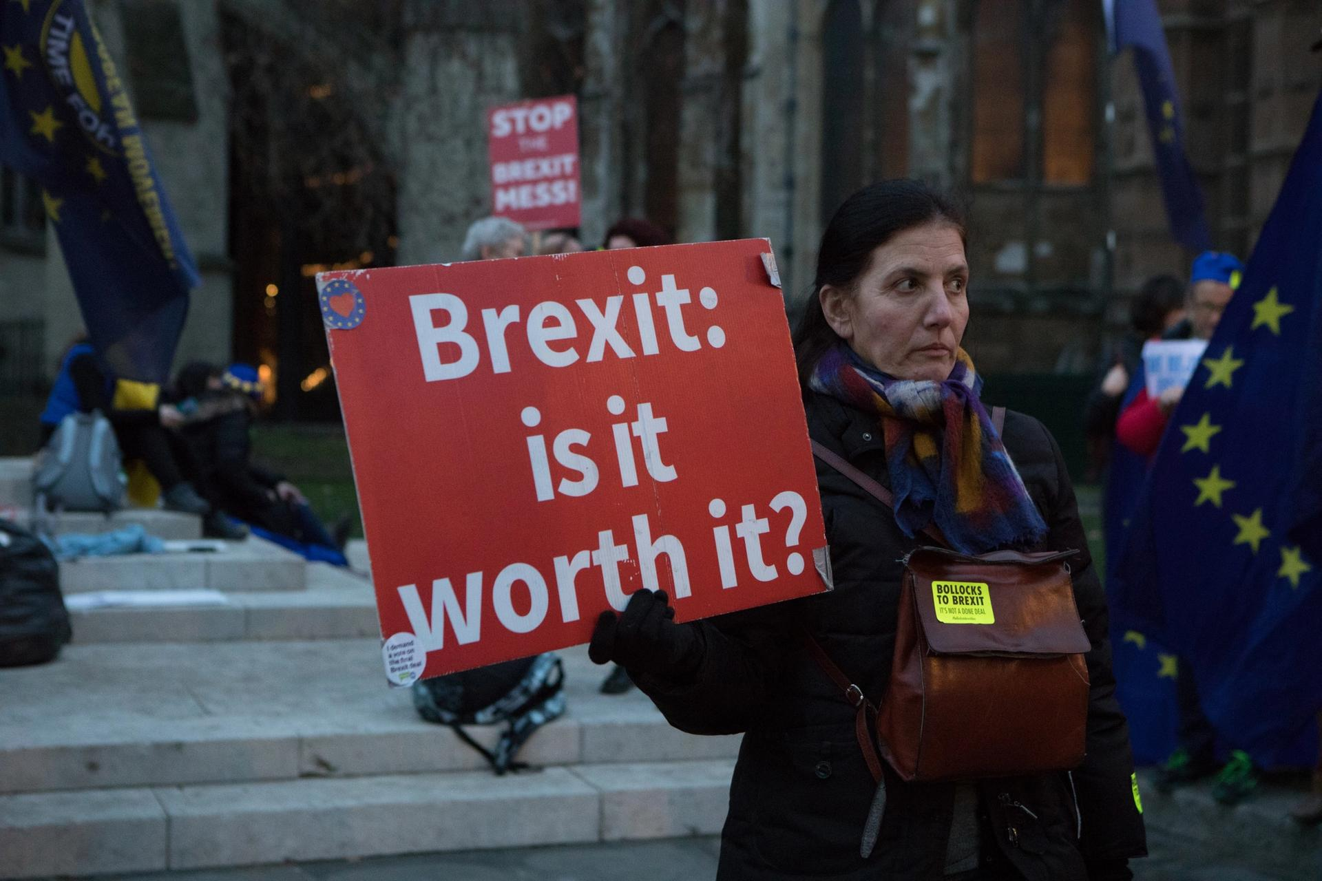 """Founders say that the Brexit Museum will be """"balanced"""" although there are only people who voted pro-Brexit on the board of trustees Photo: David Owens"""