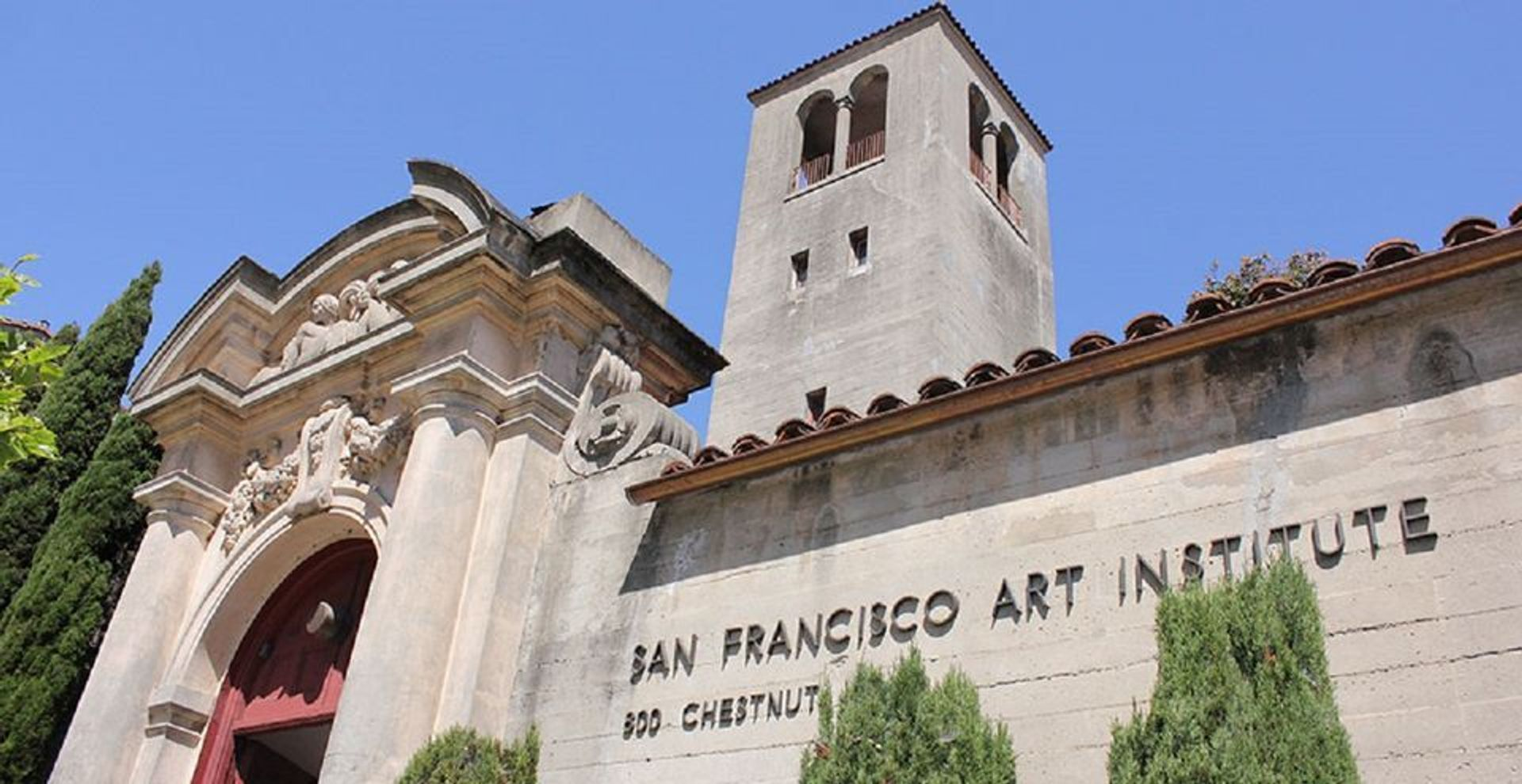 The San Francisco Art Institute nearly closed for good in 2020 Courtesy of bart.gov