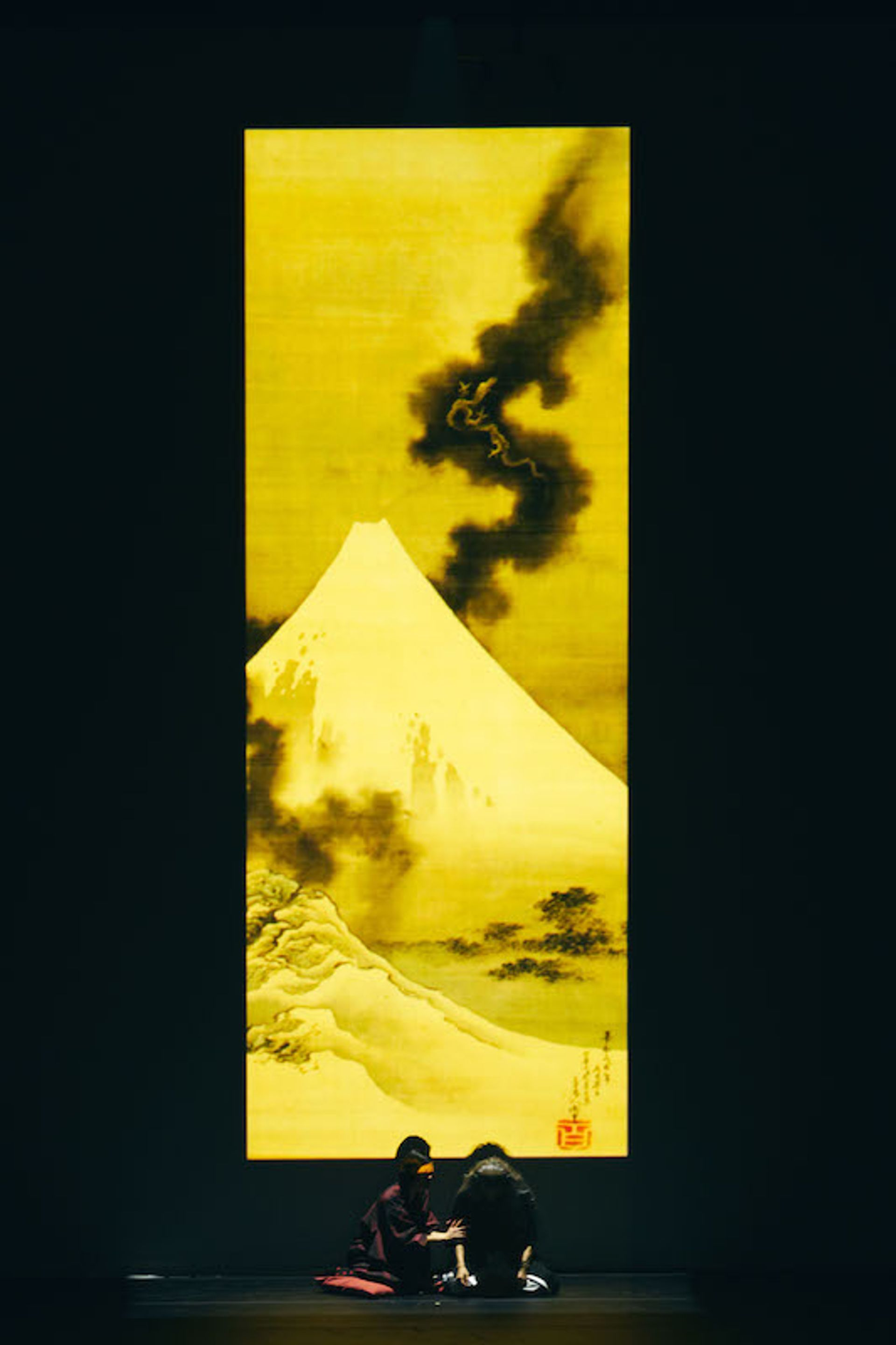 A scene from the Life of Hokusai courtesy organisers