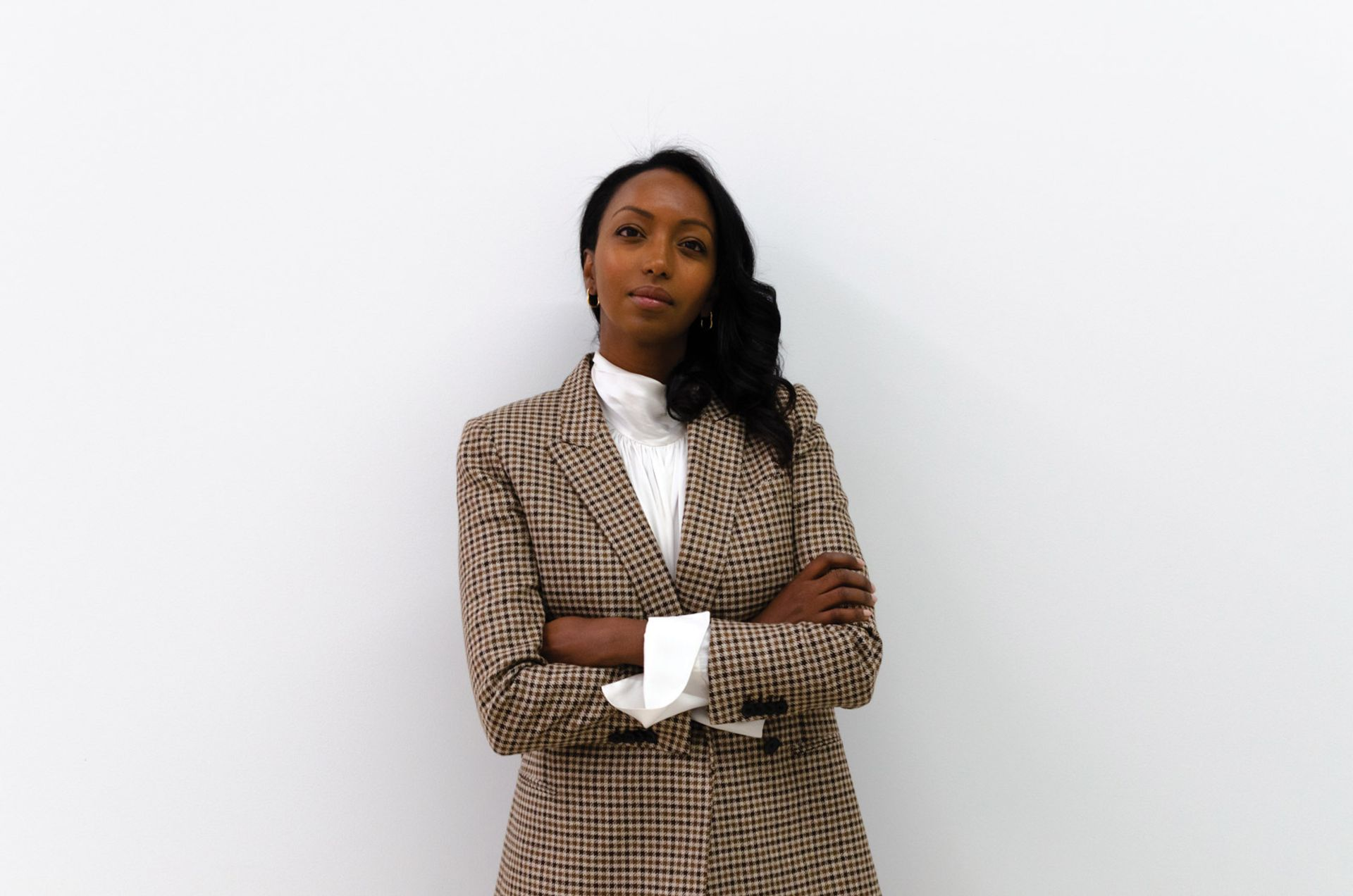 Mariane Ibrahim quickly rose to prominence on the art fair circuit,winning the Armory Show's first Presents prize in 2017 Photo: Sofia Giner