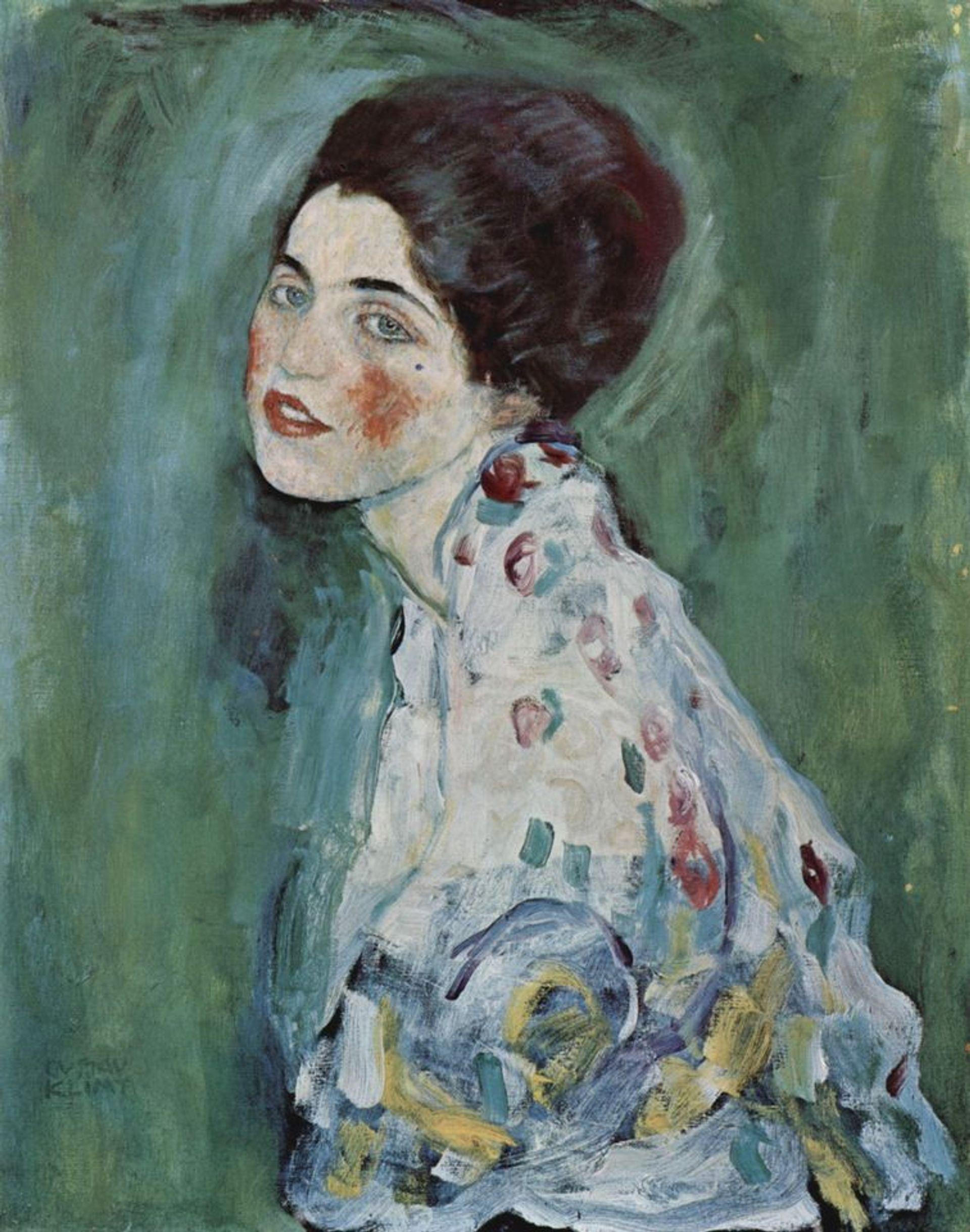 Gustav Klimt's Portrait of a Lady (1916-17) was stolen from the Ricci Oddi Gallery of Modern Art in 1997