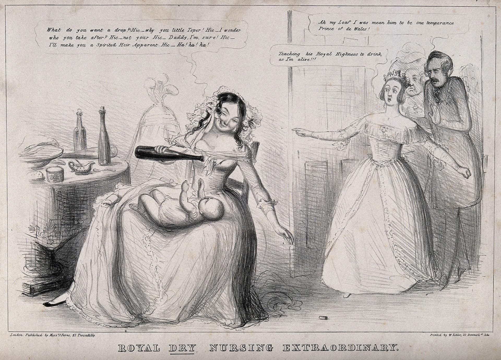 Royal Dry Nursing Extraordinary, 19th-century lithograph Courtesy of Unicorn Publishing