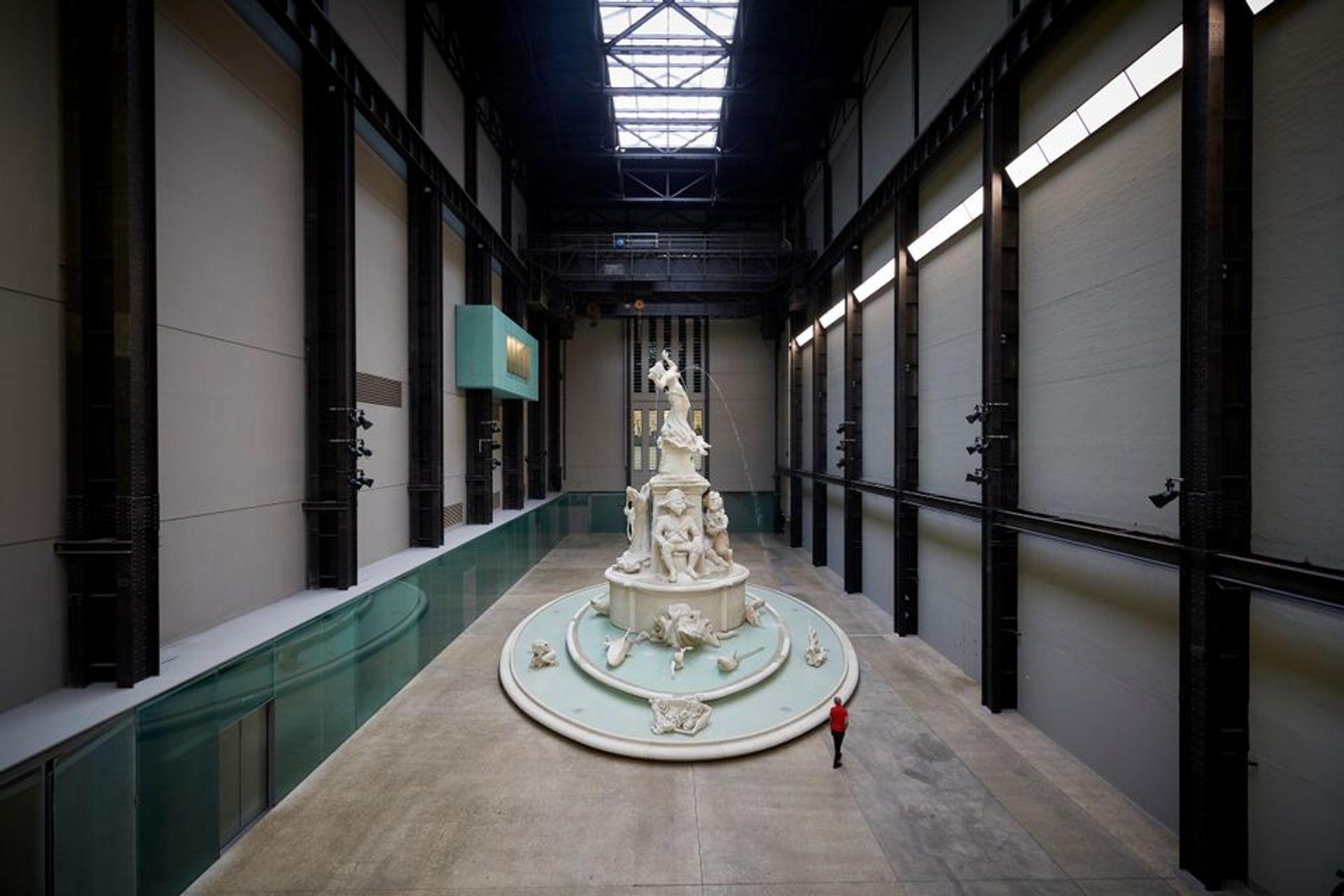 Kara Walker's monumental fountain Fons Americanus, on show at Tate Modern in London Photo: Ben Fisher