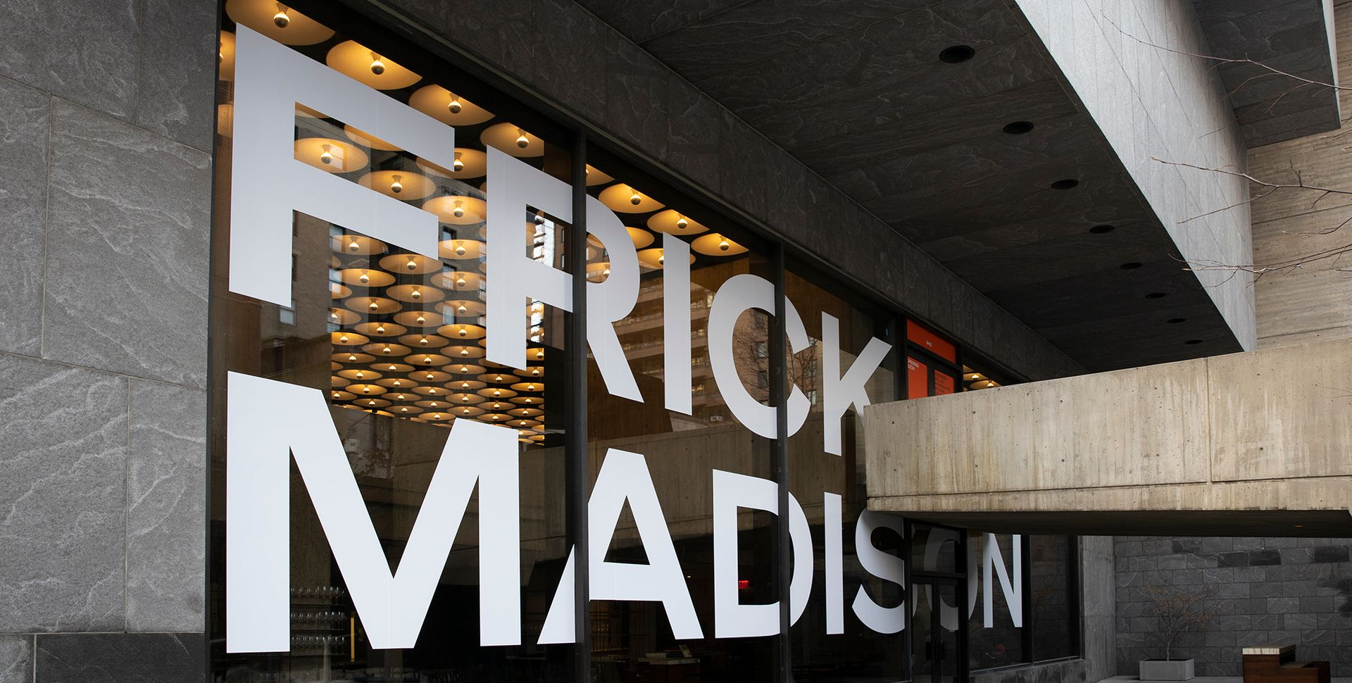 Exterior of Frick Madison Photo: Joe Coscia