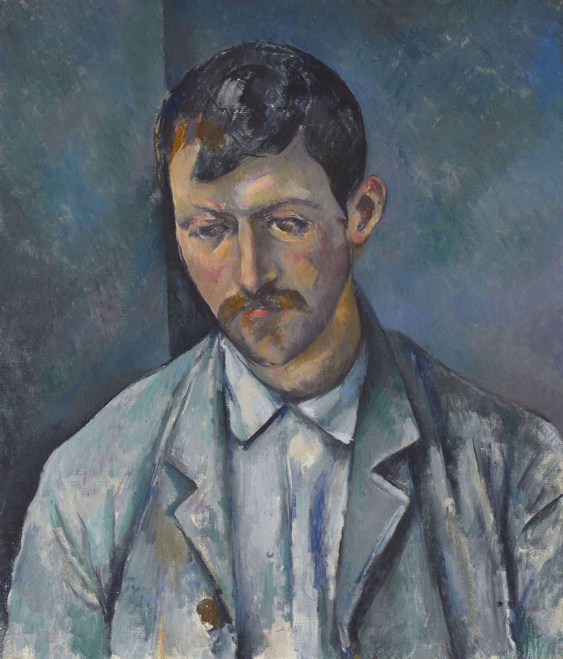 Paul Cézanne's Peasant (1890-92) Private collection