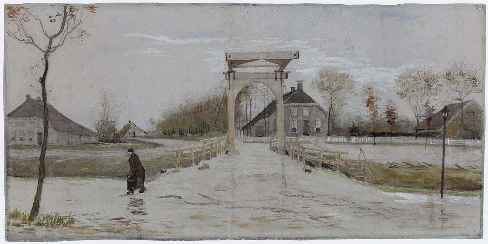 Van Gogh's Drawbridge in Nieuw-Amsterdam (October 1883) Courtesy of the Groninger Museum, Groningen
