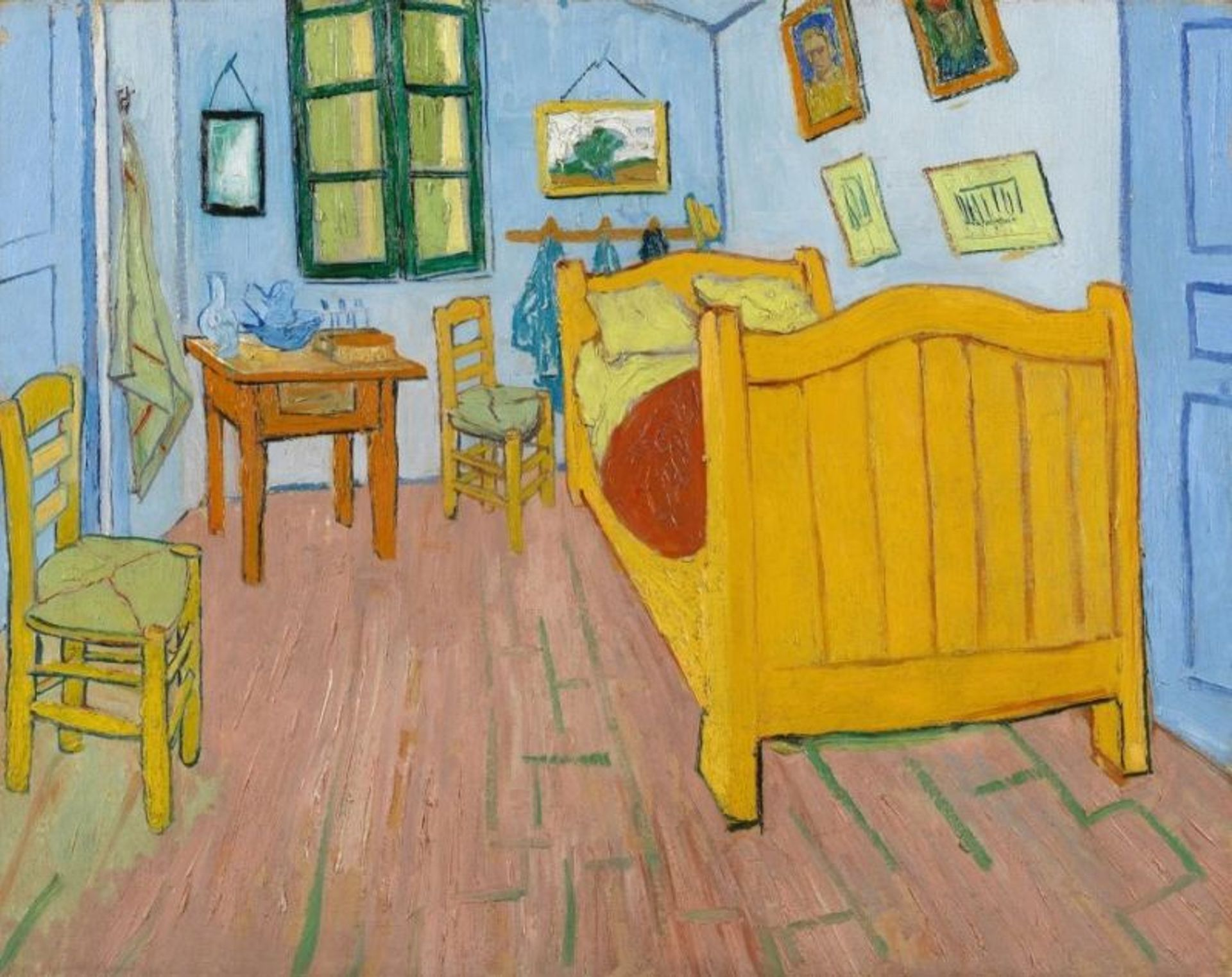 Vincent van Gogh's The Bedroom (1888) Courtesy of the Van Gogh Museum, Amsterdam (Vincent van Gogh Foundation)