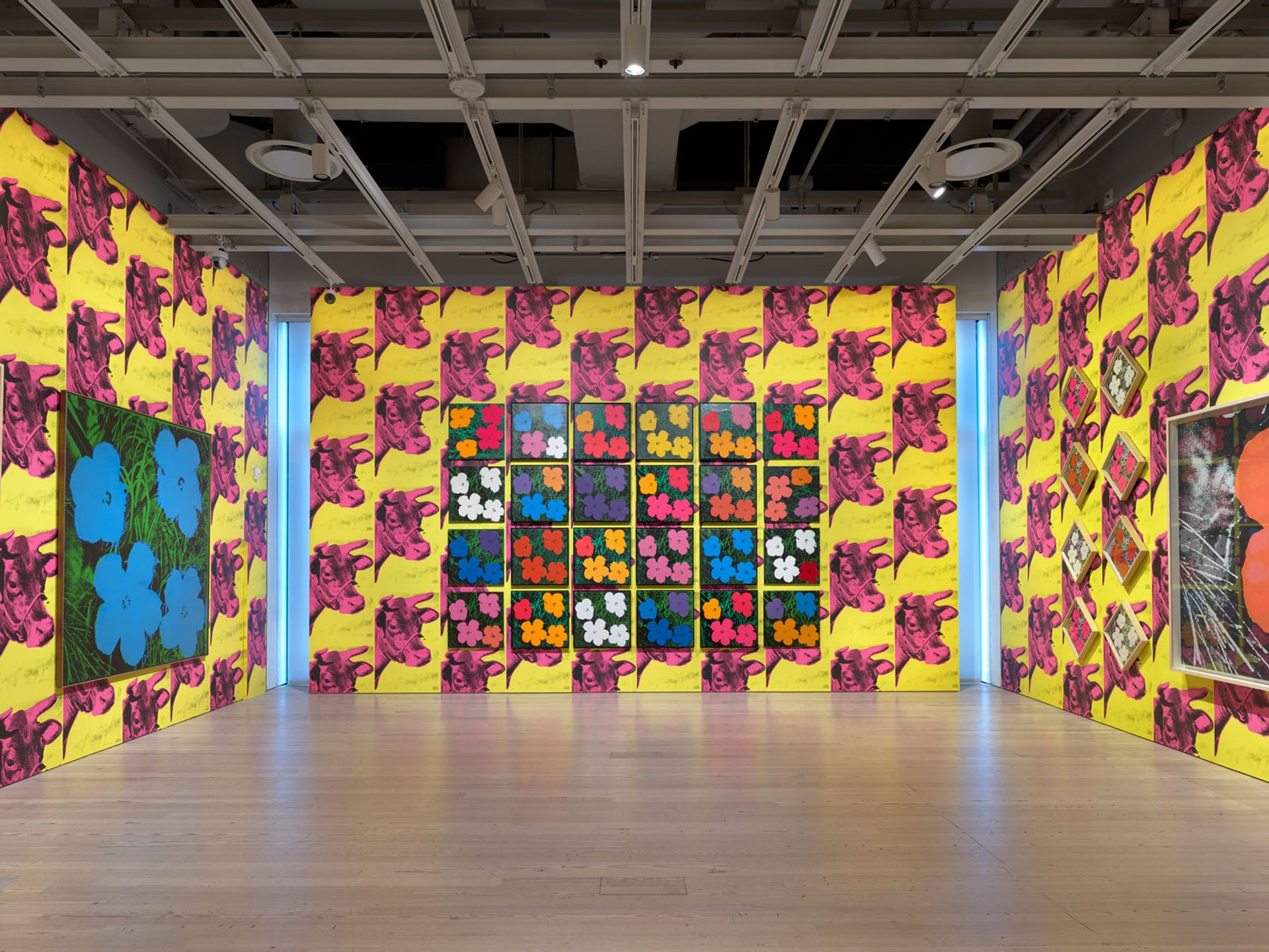 Installation view of Andy Warhol – From A to B and Back Again Photo: Ron Amstutz. © 2018 The Andy Warhol Foundation for the Visual Arts, Inc/Licensed by Artists Rights Society (ARS), New York