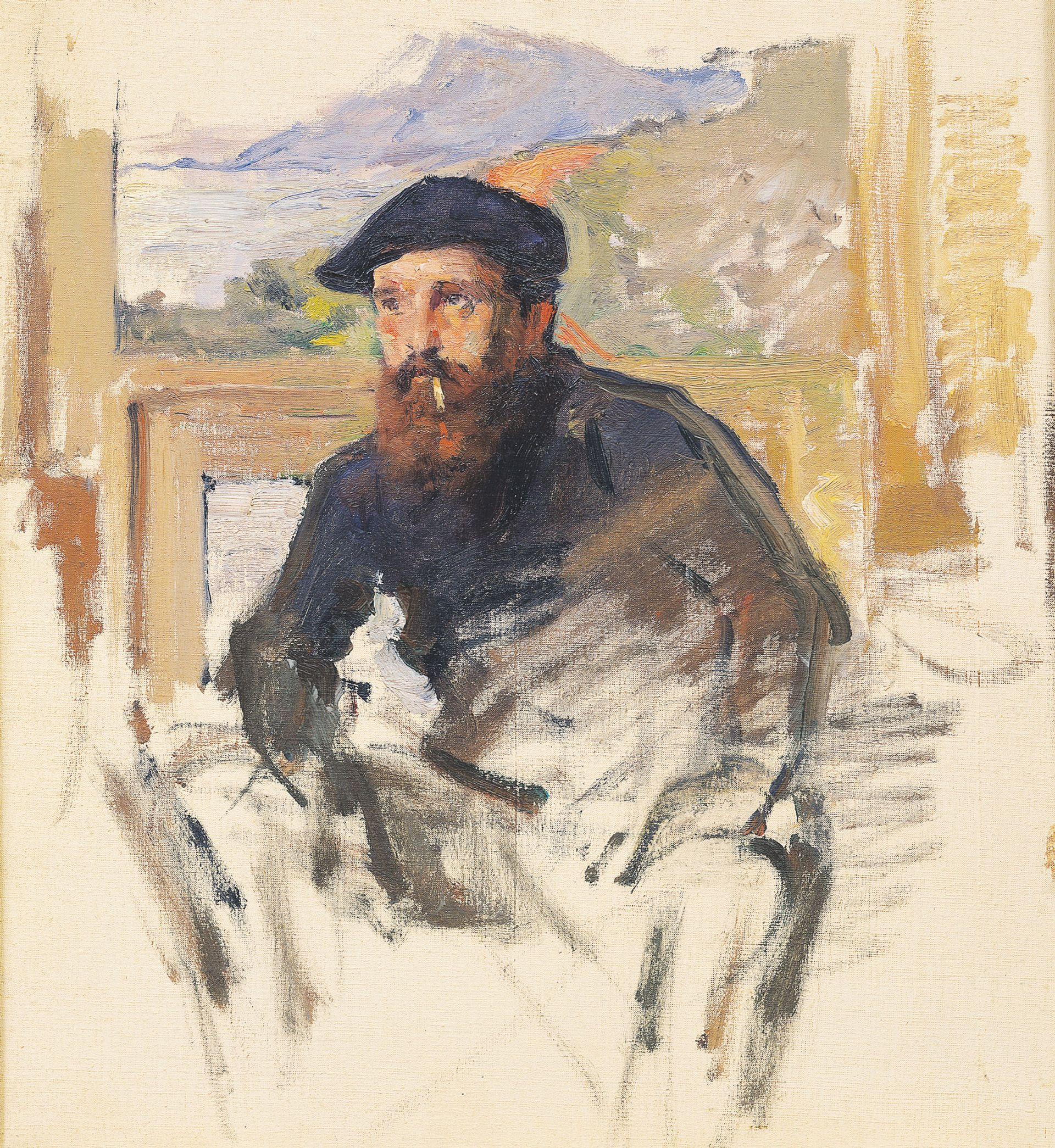 The picture in the Musée Marmottan Monet in Paris has now been attributed to Swiss artist Charles Giron (1885) © The Bridgeman Art Library