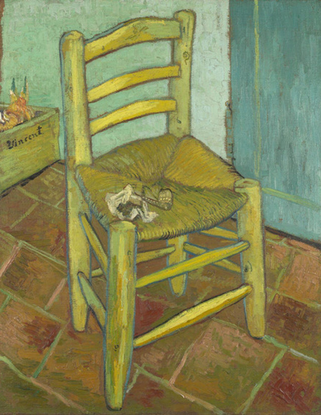 Vincent van Gogh, Van Gogh's Chair (1888-89) © National Gallery, London