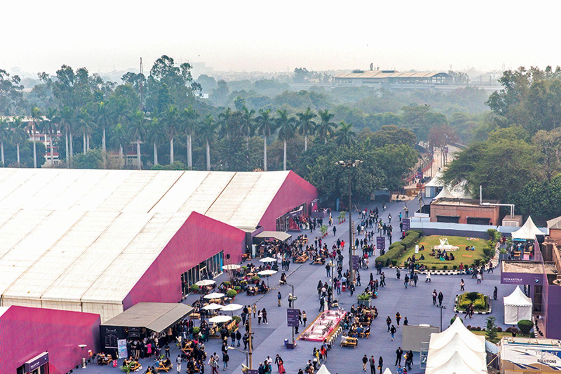 India Art Fair attracted more than 90,000 visitors last year Andy Barnham/India Art Fair