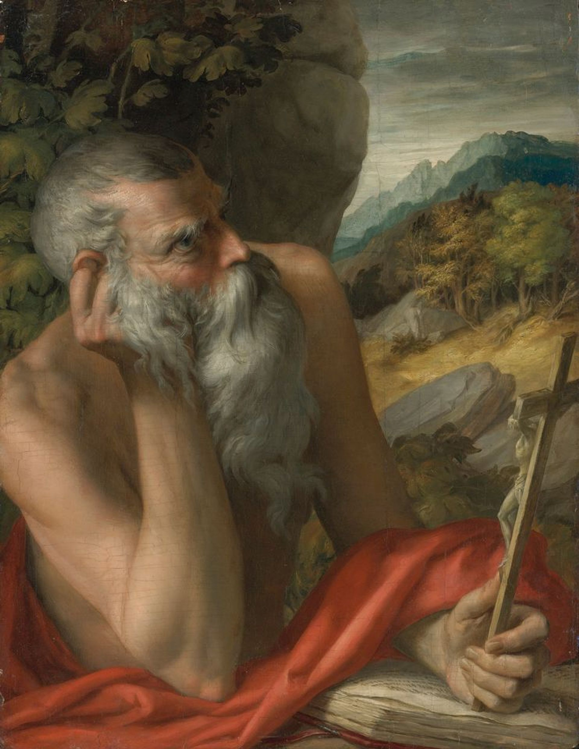 Two separate investigations found that Saint Jerome, attributed to Parmigianino, is a modern fake Courtesy of Sotheby's