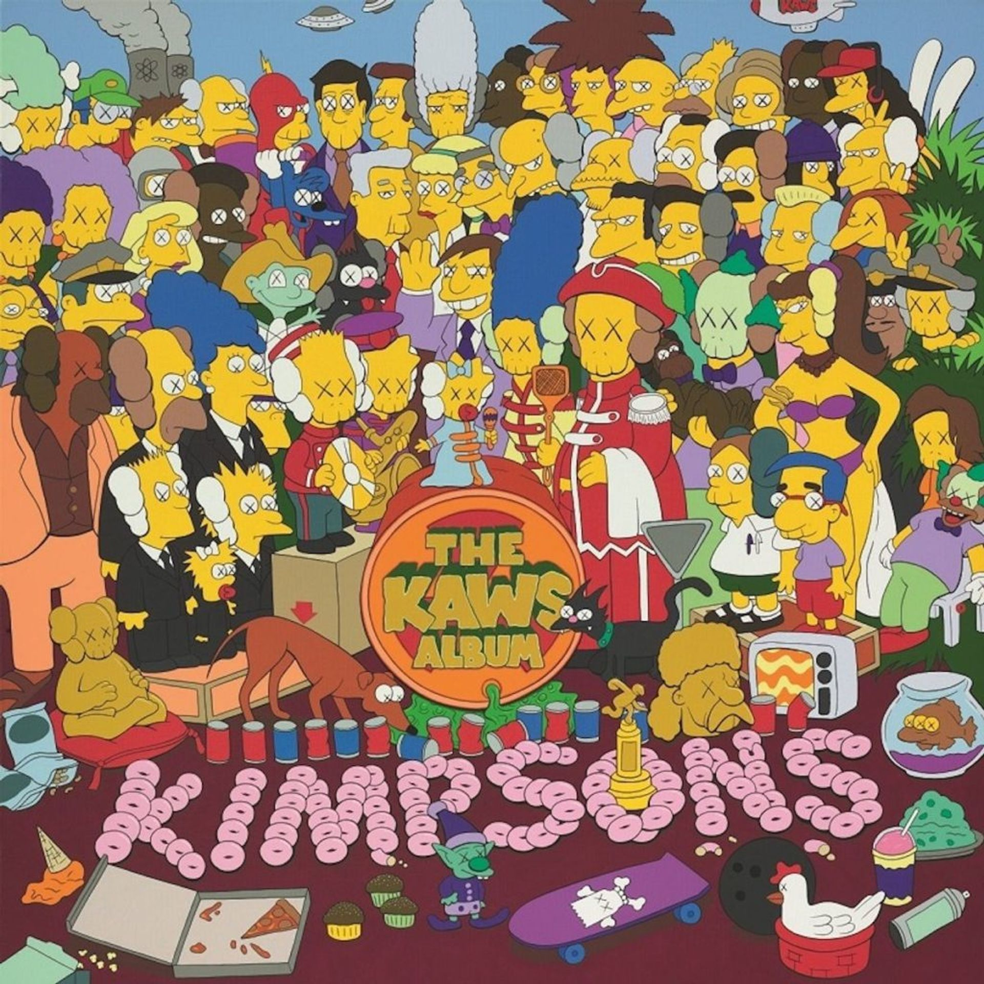 KAWS, the KAWS Album, sold for  $14.8m at Sotheby's Hong Kong Courtesy of Sotheby's
