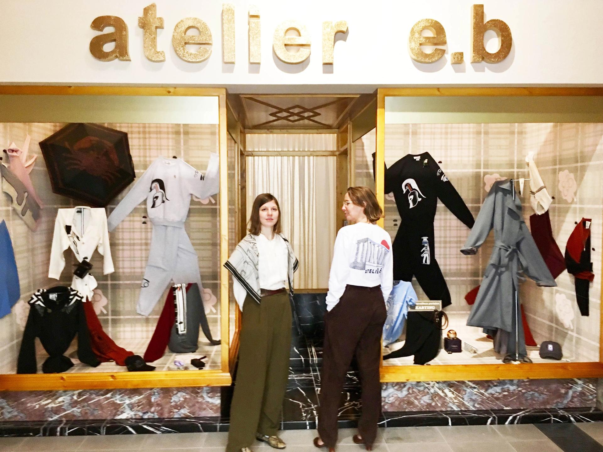 Atelier E.B is the name under which the designer Beca Lipscombe and the artist Lucy McKenzie sign their collaborative projects Photo: Louisa Buck