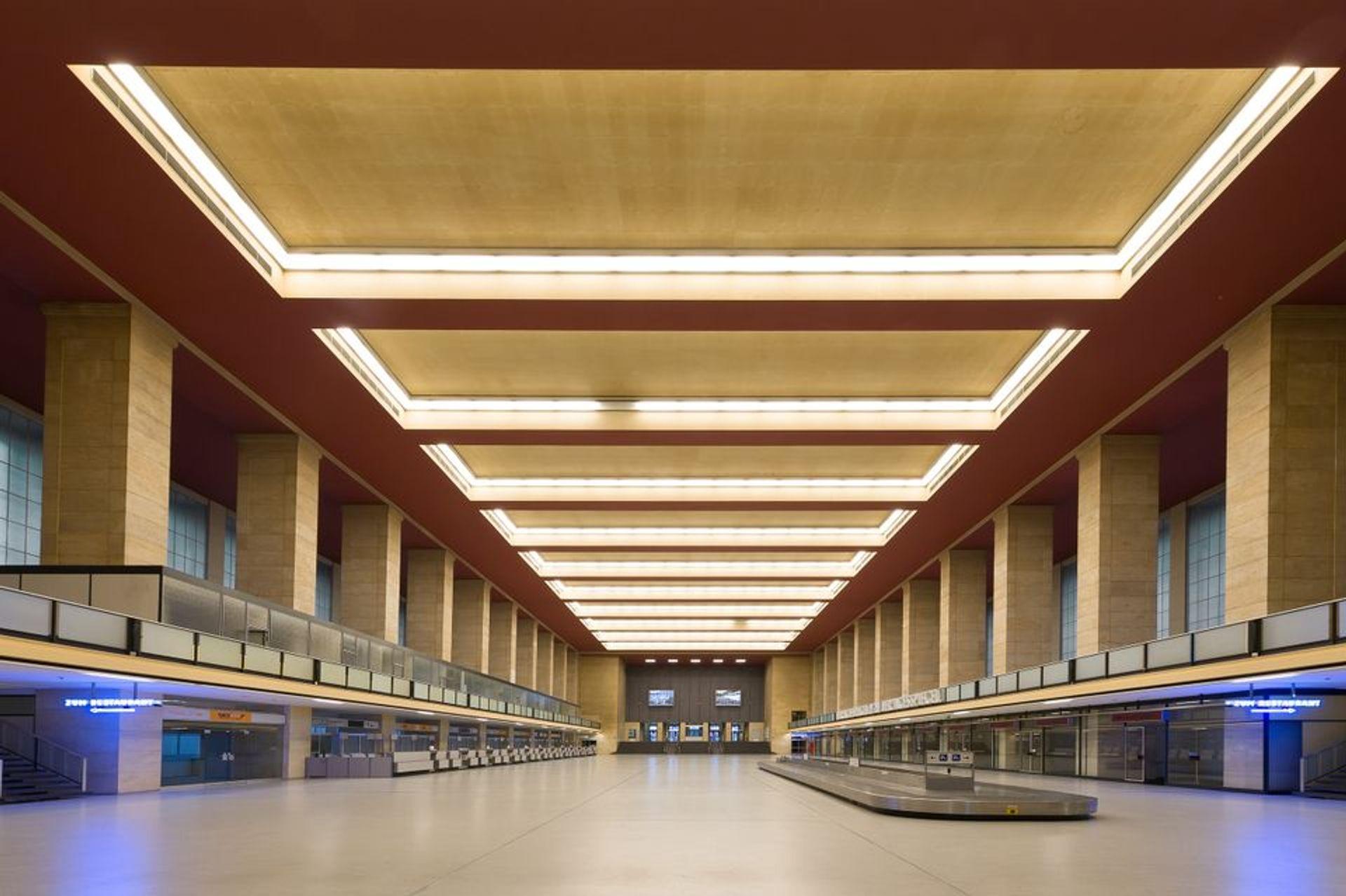 Tempelhof airport's main hall Tempelhof Projekt GmbH, www.thf-berlin.de
