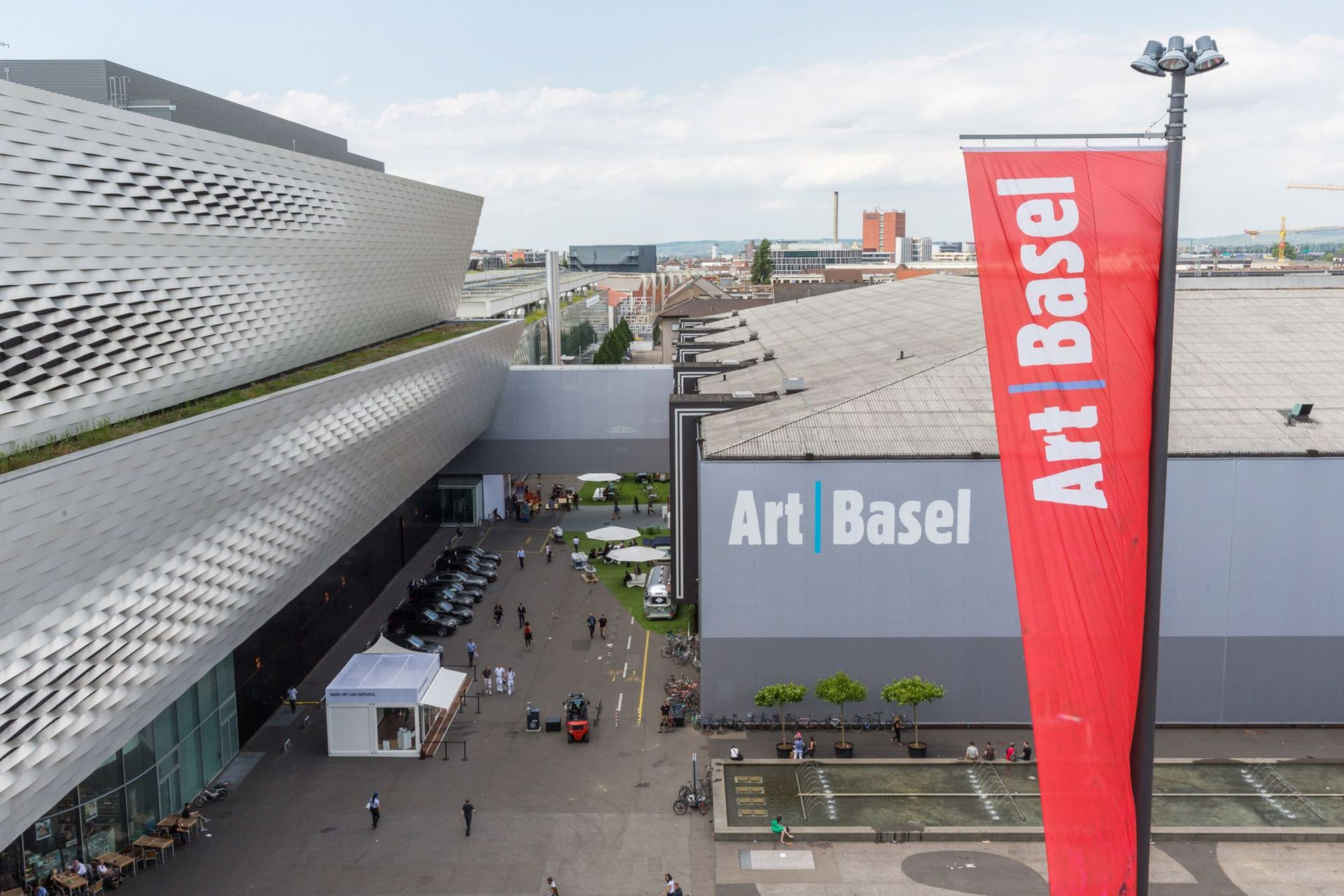 Art Basel will hold its 2021 Swiss edition this September Courtesy of Art Basel