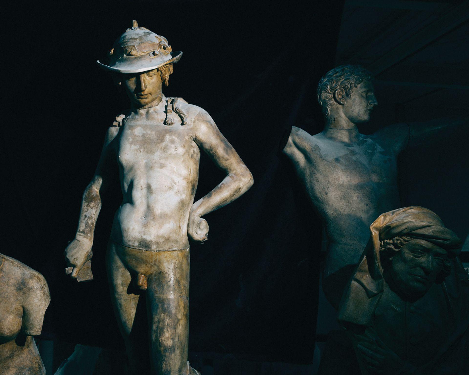 The Gipsformerei's master model for Donatello's 15th-century bronze of David ©Daniel Hofer