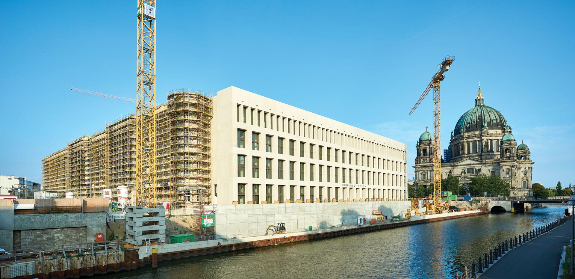 The Humboldt Forum under construction © SHF/Stephan Falk
