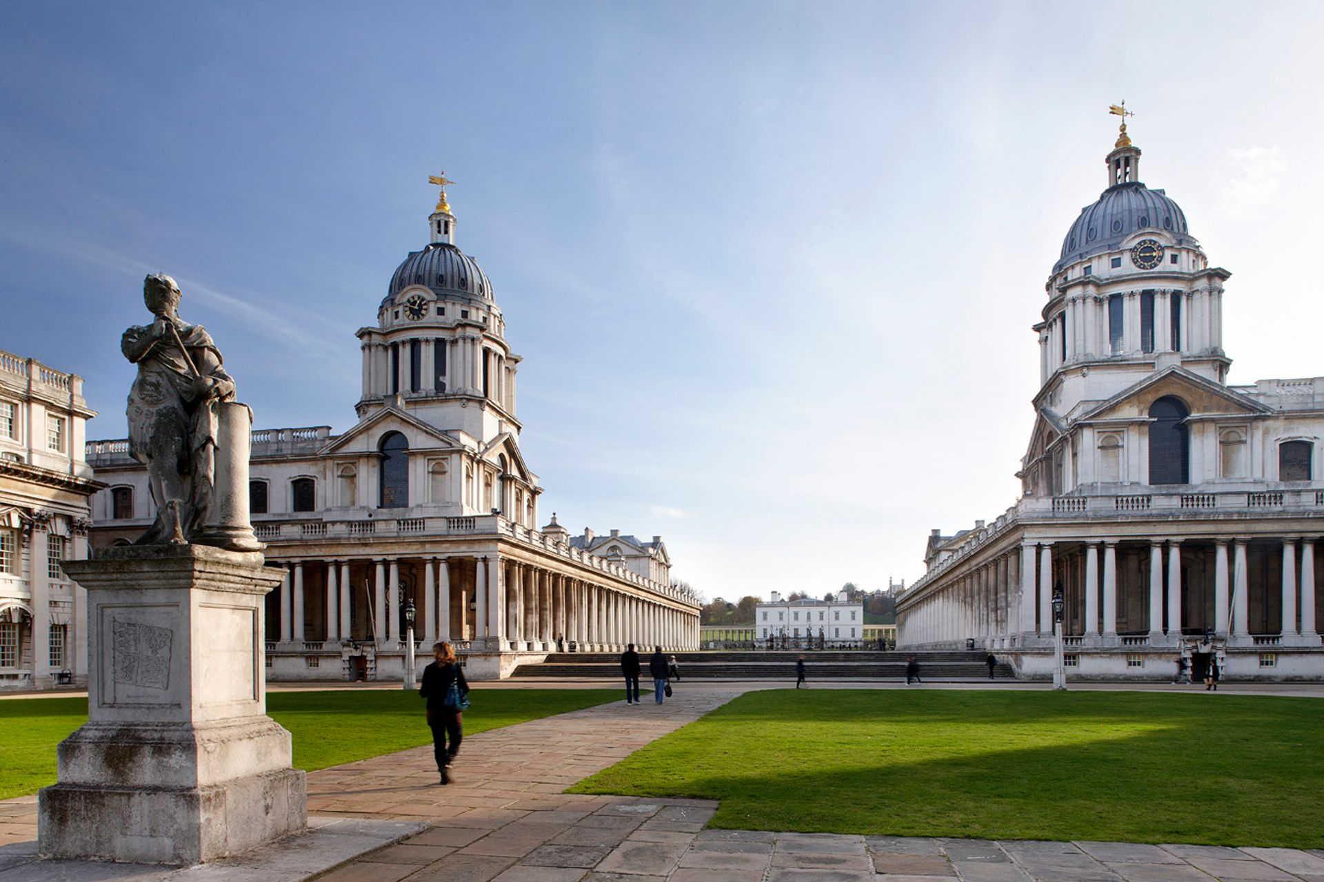 The Old Royal Naval College in Greenwich is one of the biggest beneficiaries of the UK government's heritage rescue funds, receiving a grant of nearly £1m © ORNC and Jigsaw Design & Publishing